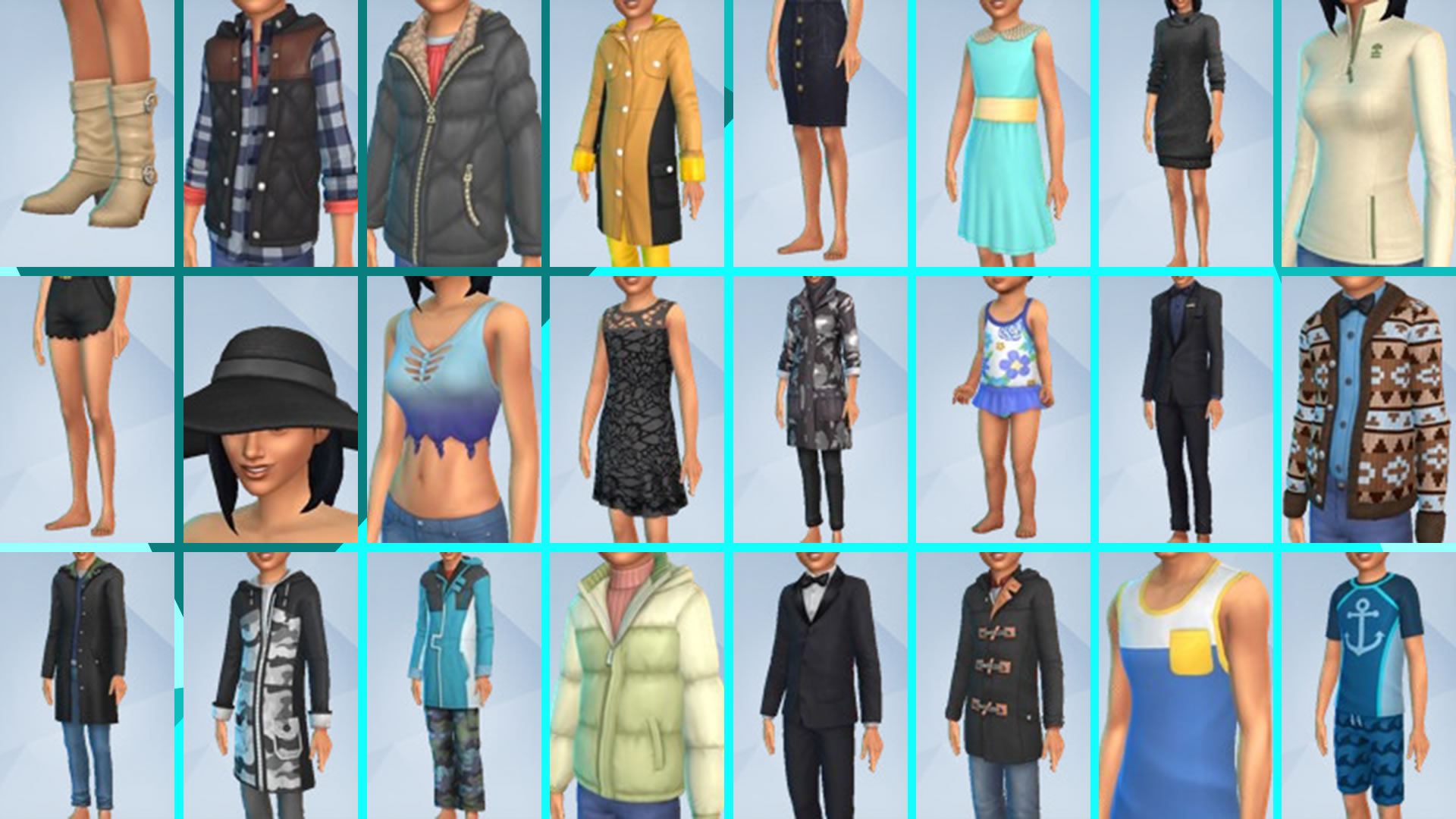 Скриншот №2 к The Sims 4 Времена года