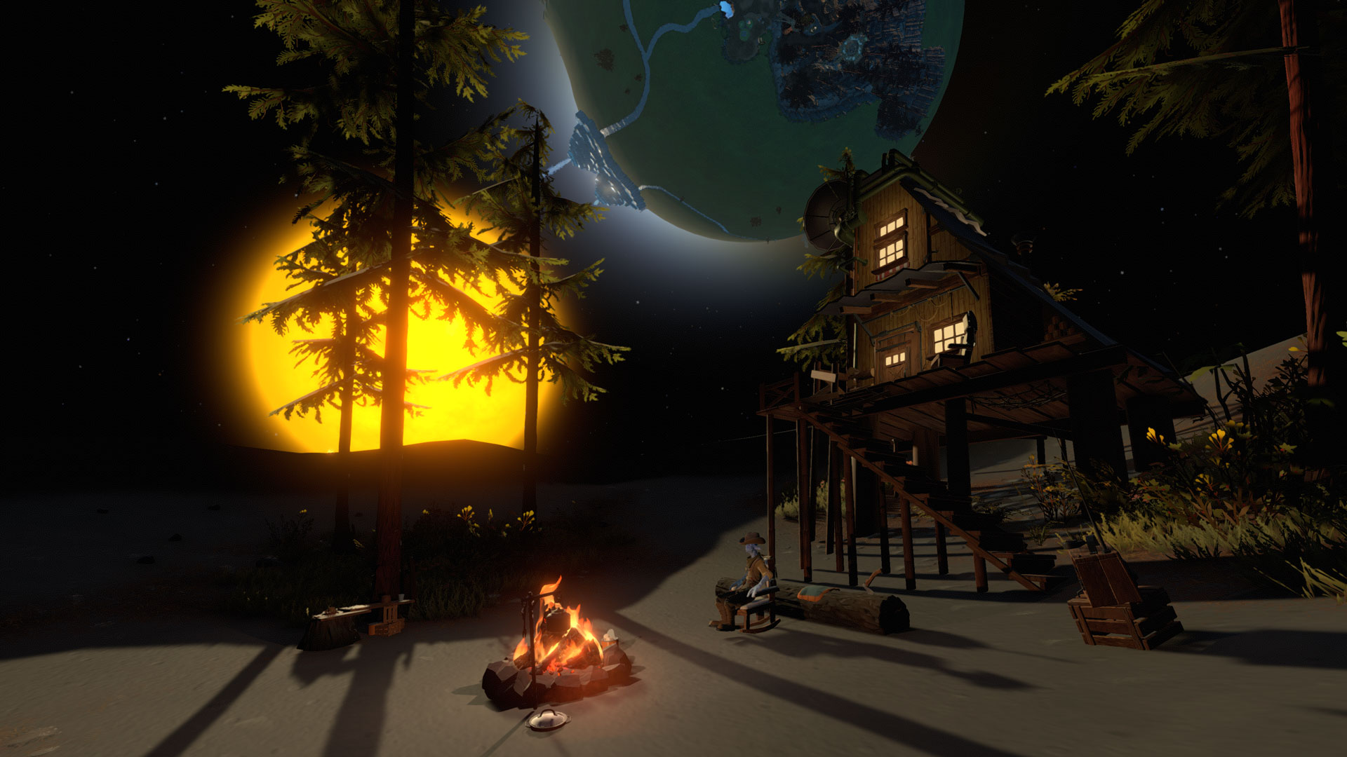 Скриншот №1 к Outer Wilds Archaeologist Edition