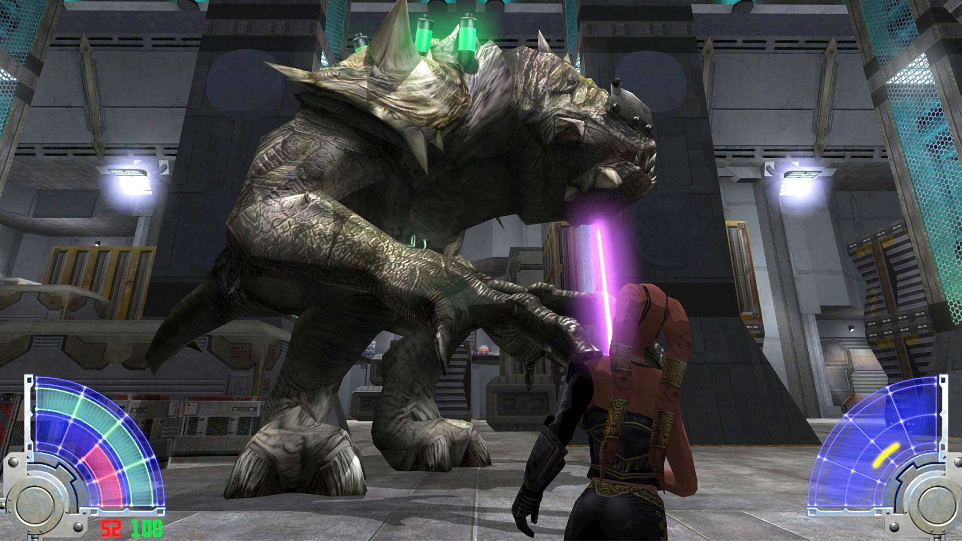Скриншот №1 к STAR WARS Jedi Knight Jedi Academy
