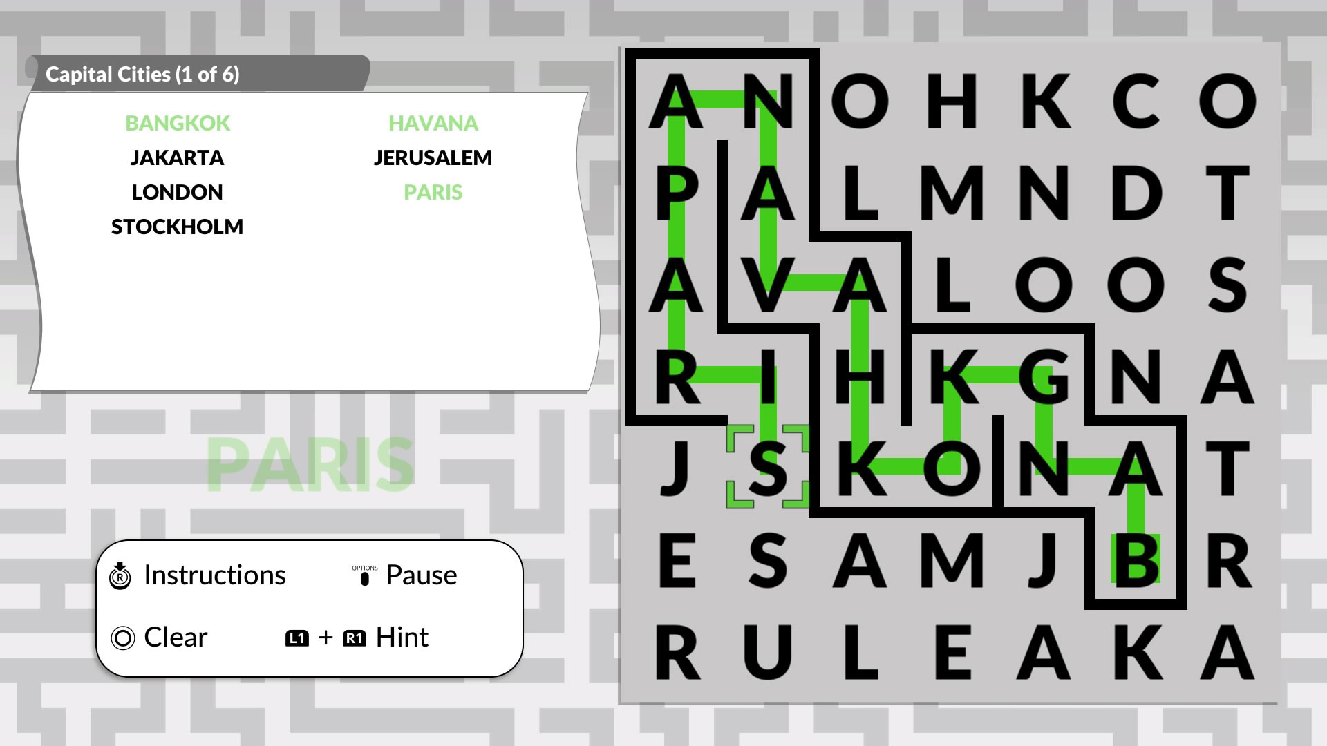 Скриншот №2 к Word Maze by POWGI