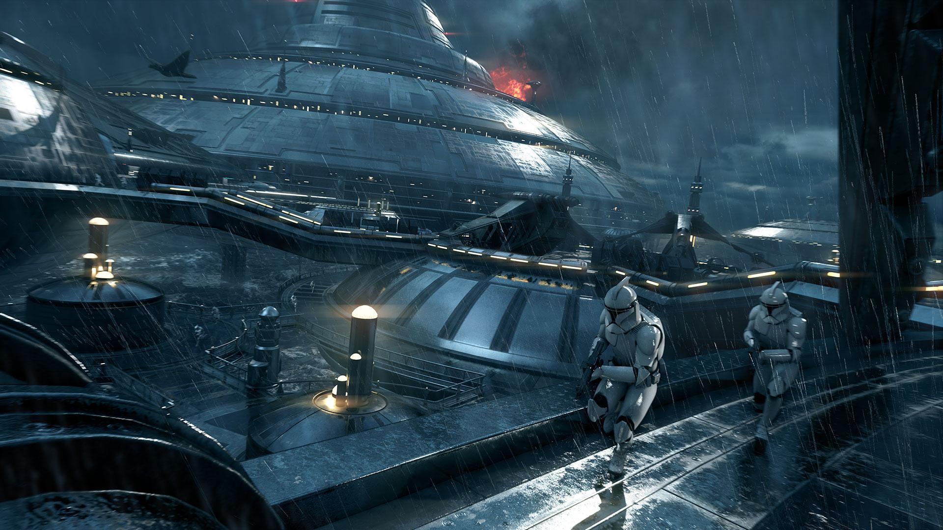 Скриншот №3 к STAR WARS Battlefront II — обновление до «Праздничного издан