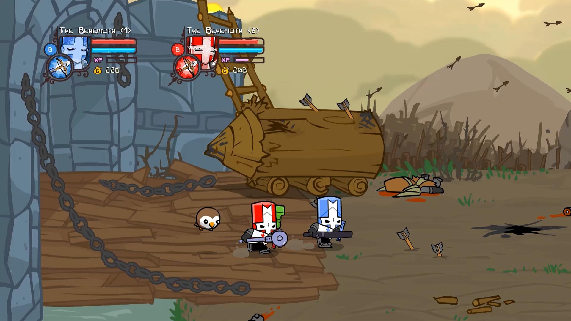 Скриншот №1 к Castle Crashers Remastered