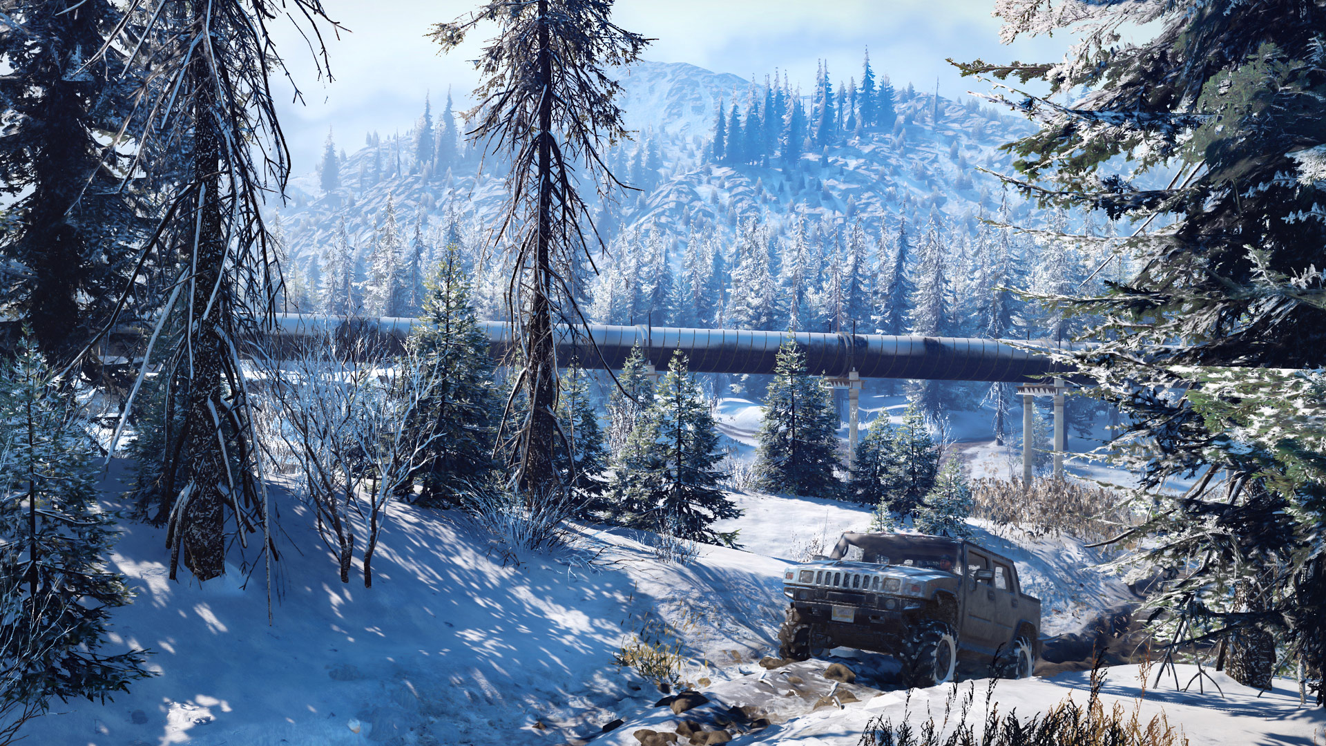 Скриншот №8 к SnowRunner - Premium Edition