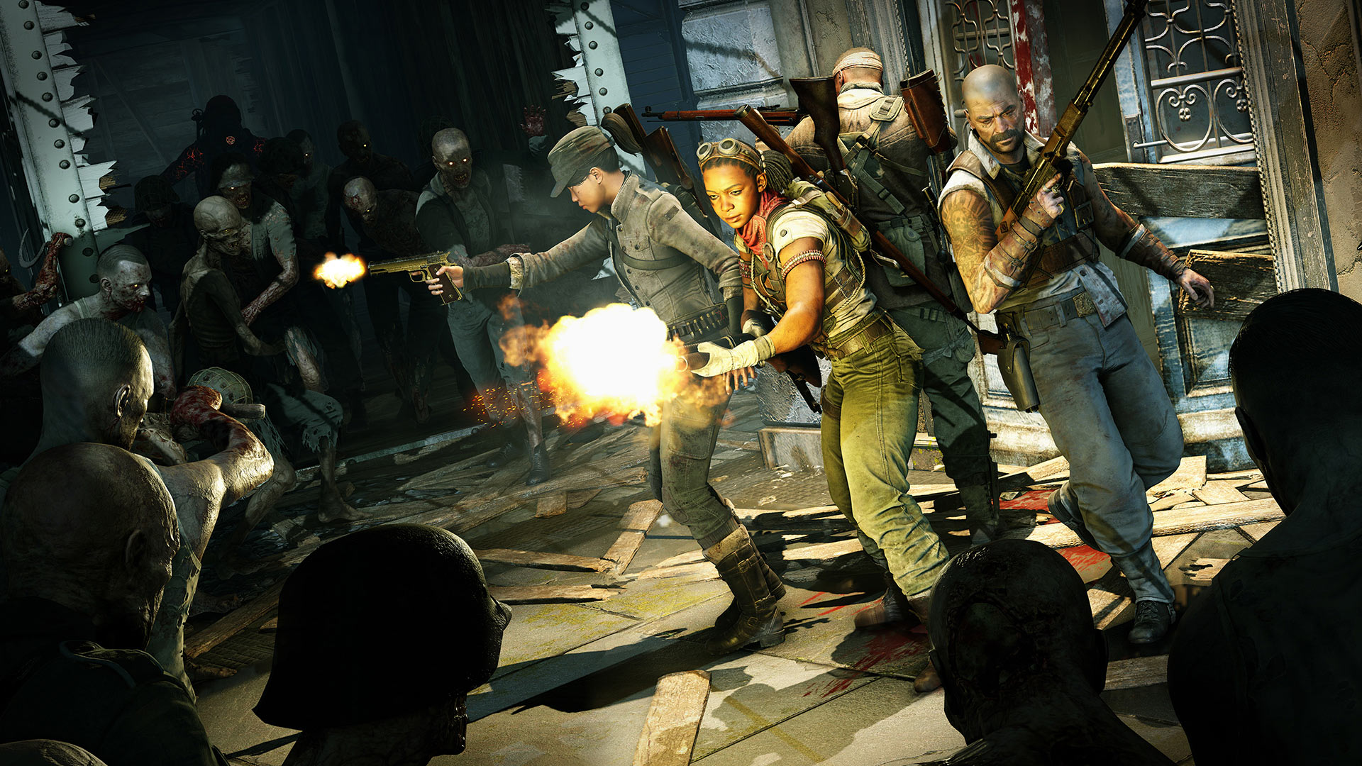 Скриншот №6 к Zombie Army 4 Dead War