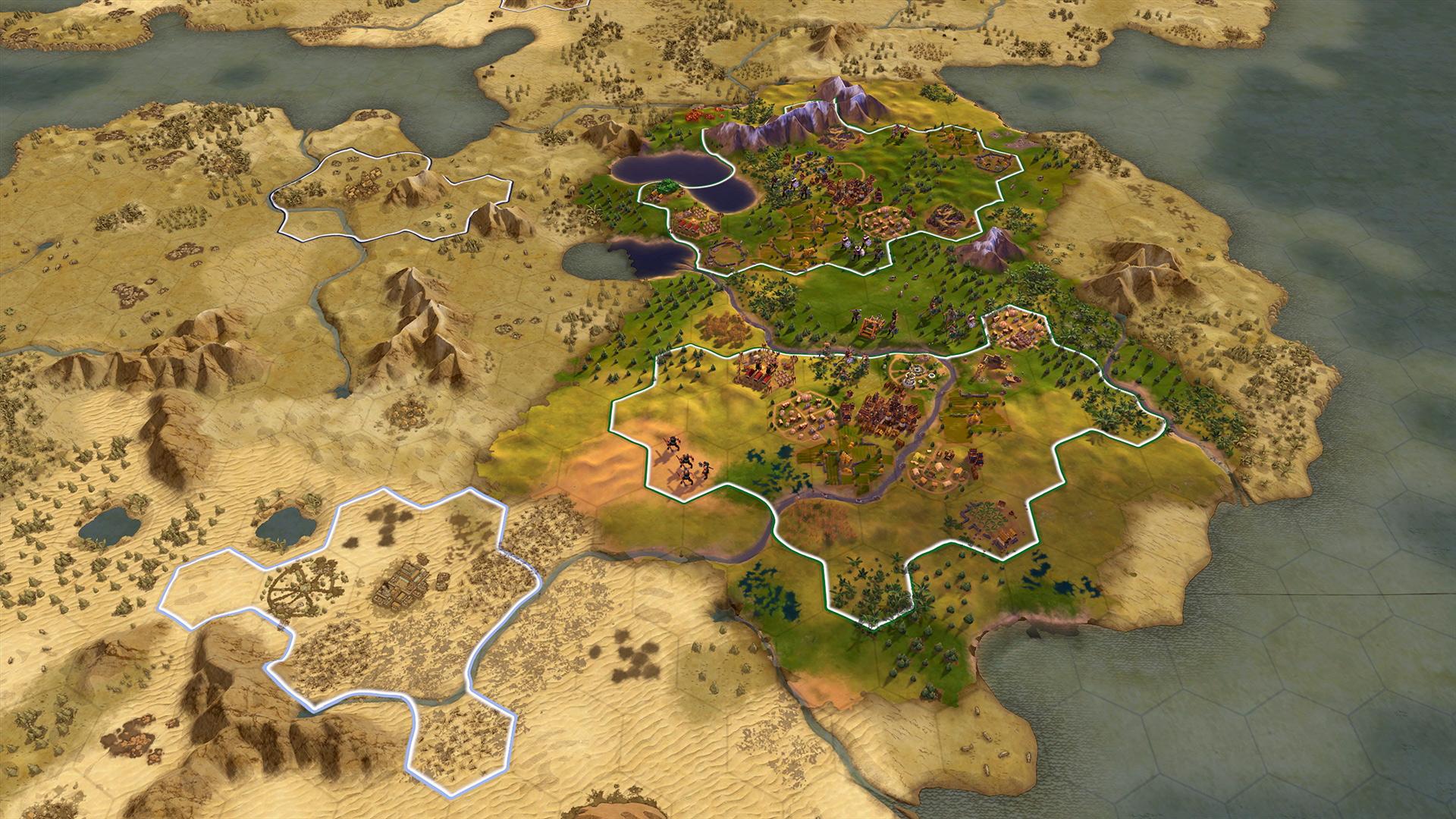 Скриншот №1 к Sid Meiers Civilization VI