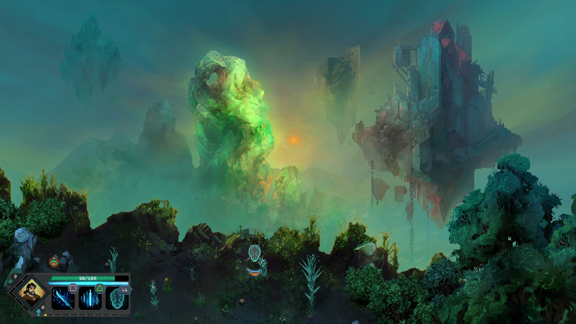 Скриншот №1 к Children of Morta Complete Edition