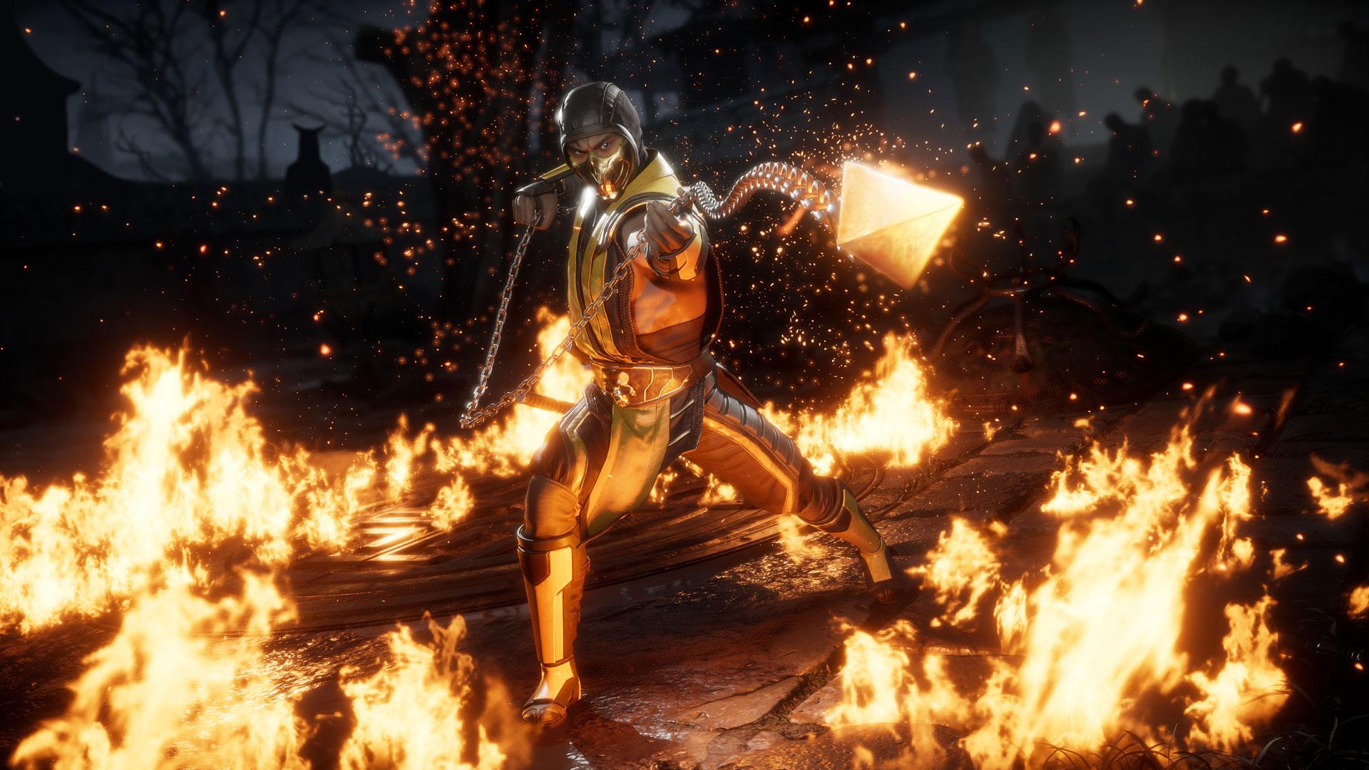 Скриншот №1 к Комплект Ultimate-издание MK11 + Injustice 2 - лег. издание