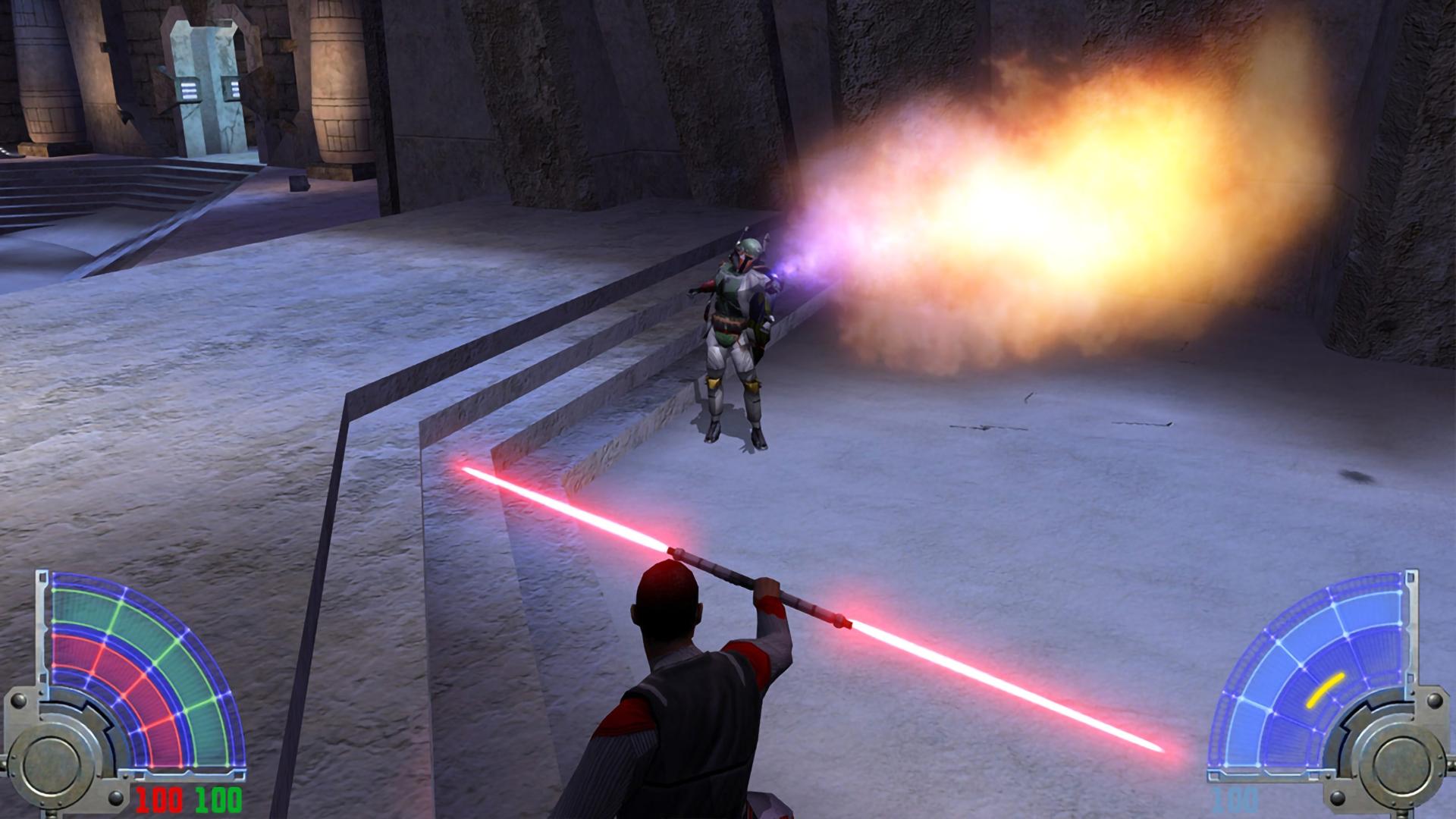 Скриншот №4 к STAR WARS Jedi Knight Jedi Academy