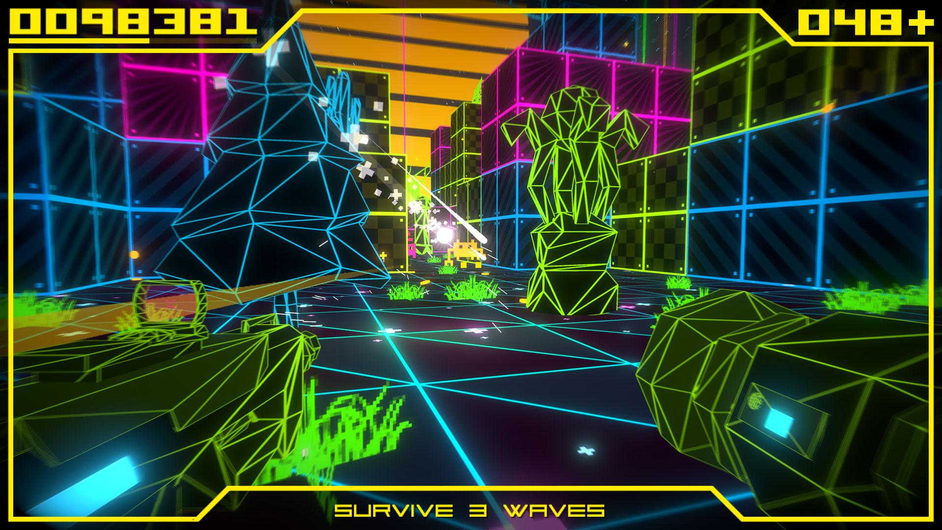 Скриншот №2 к Super Destronaut Land Wars