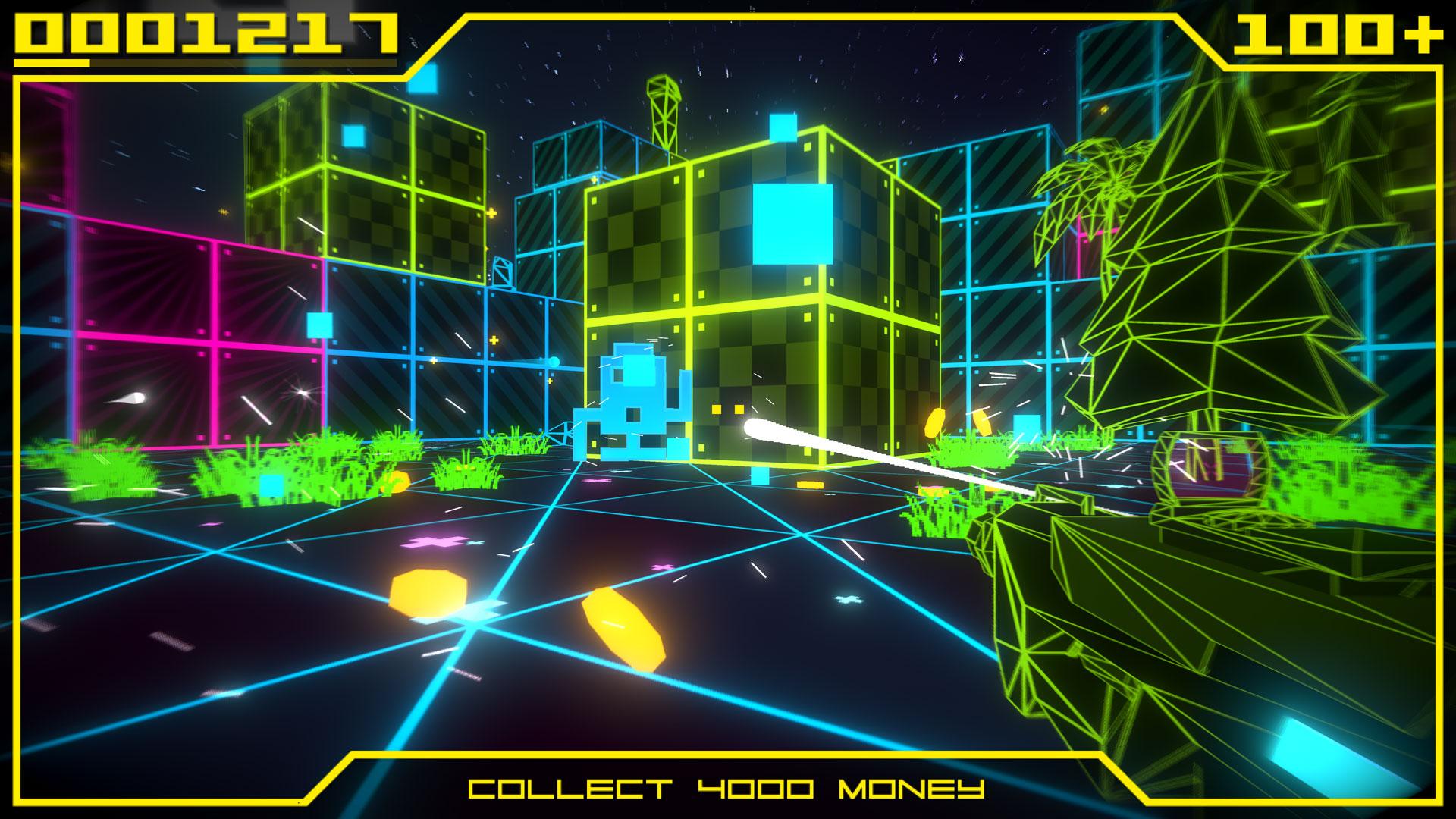 Скриншот №1 к Super Destronaut Land Wars