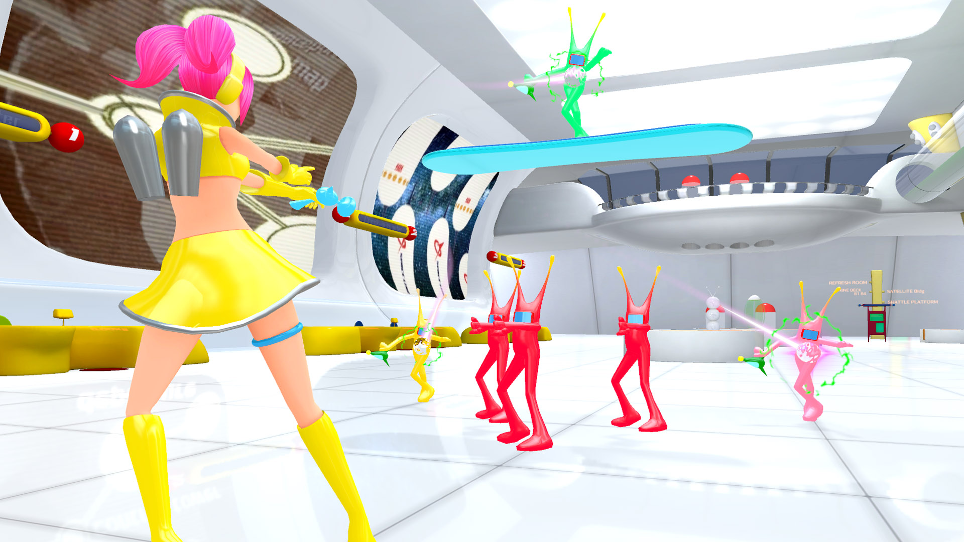 Space Channel 5 VR Kinda Funky News Flash!