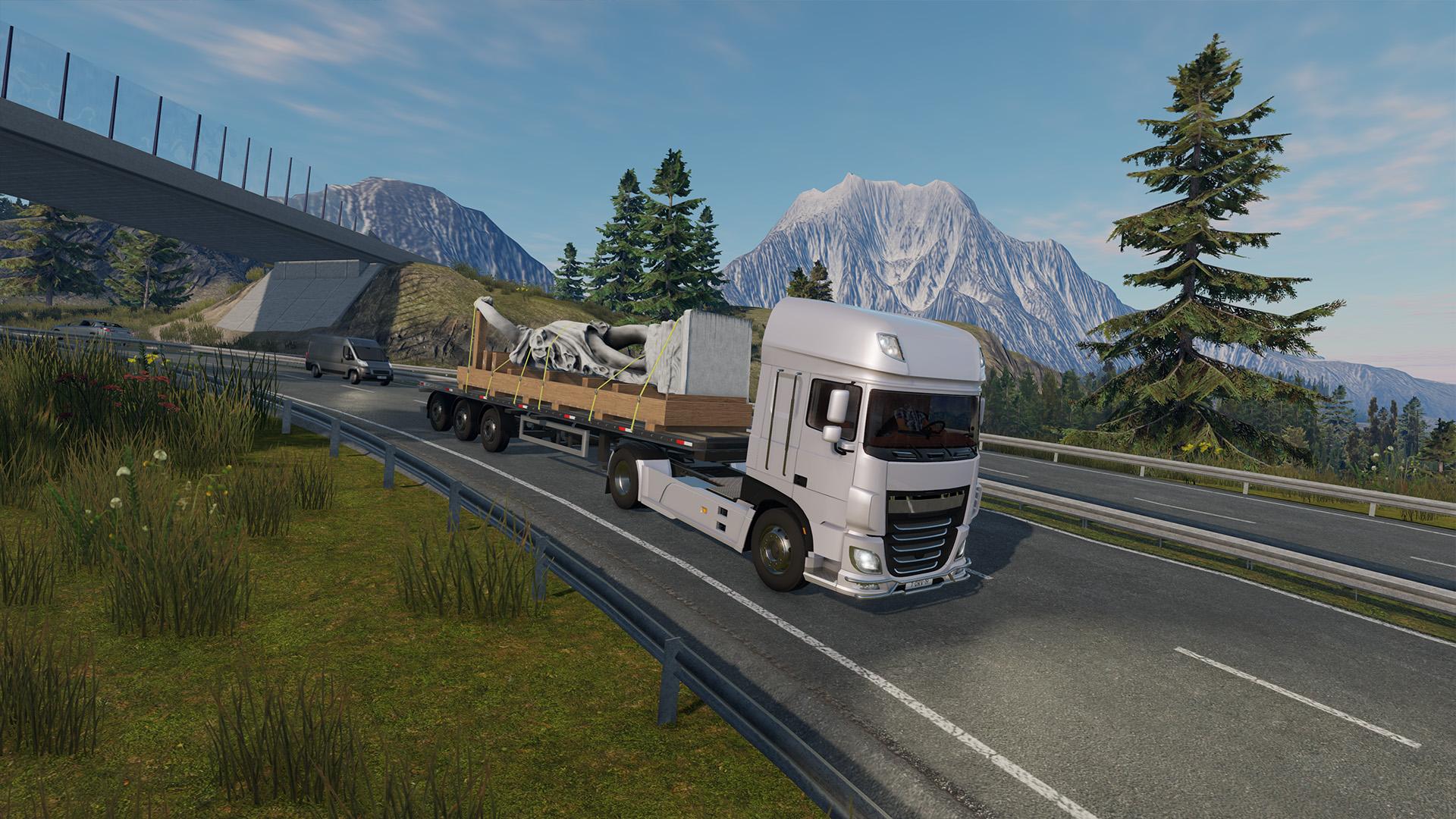 Скриншот №1 к Truck Driver