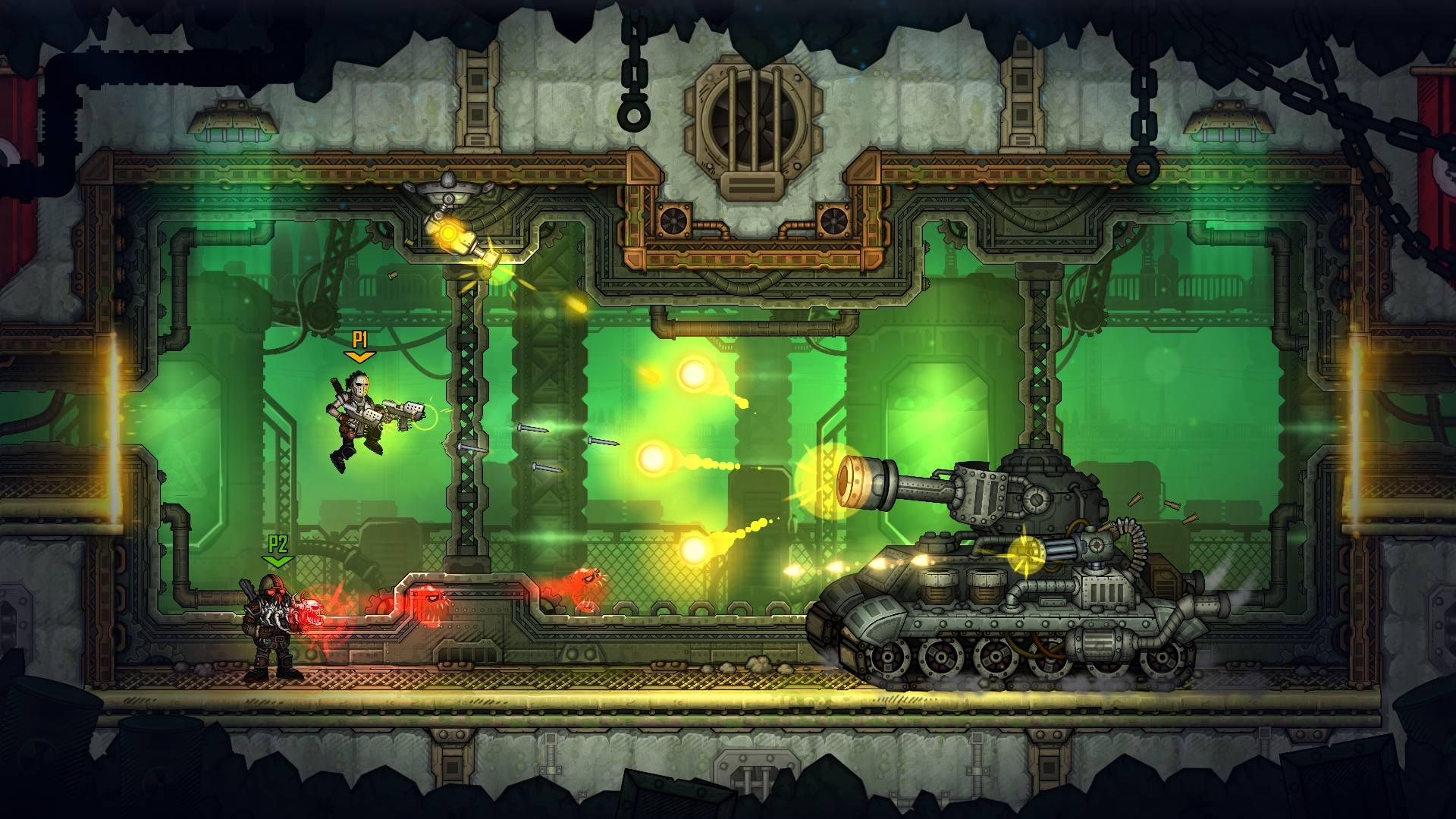 Скриншот №10 к Fury Unleashed