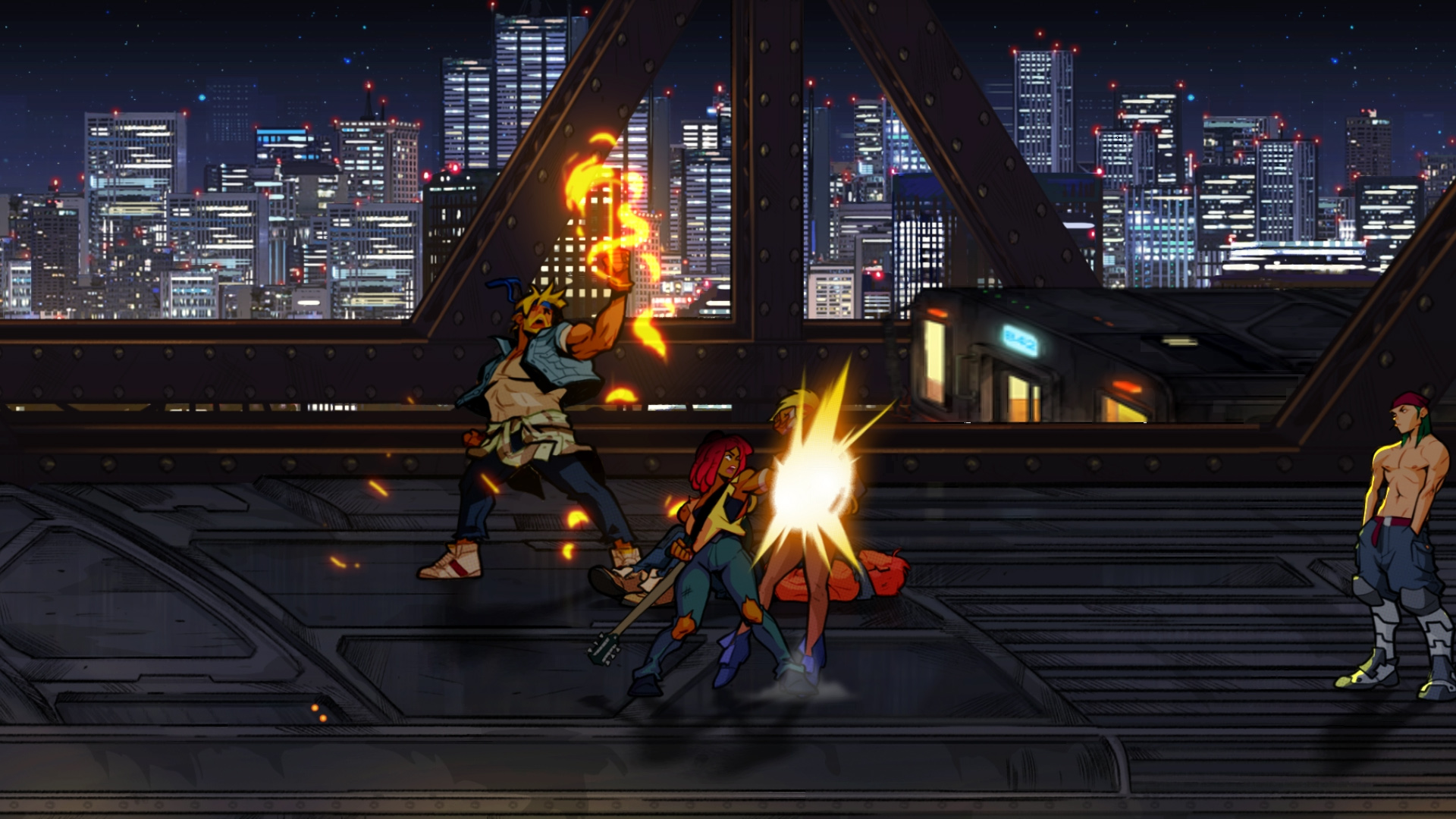 Скриншот №5 к Streets Of Rage 4