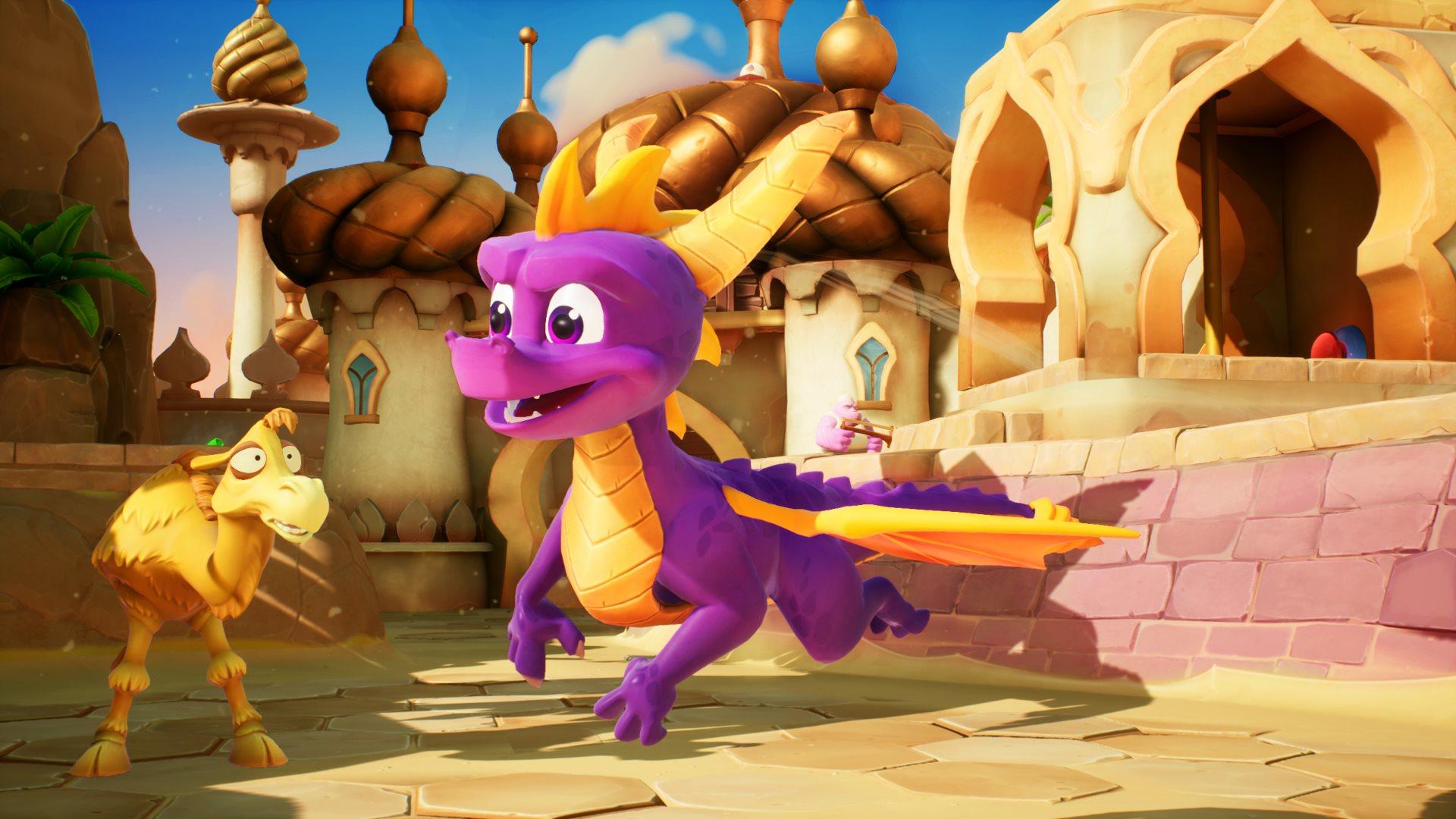 Скриншот №6 к Тройной набор Crash™ + Spyro™