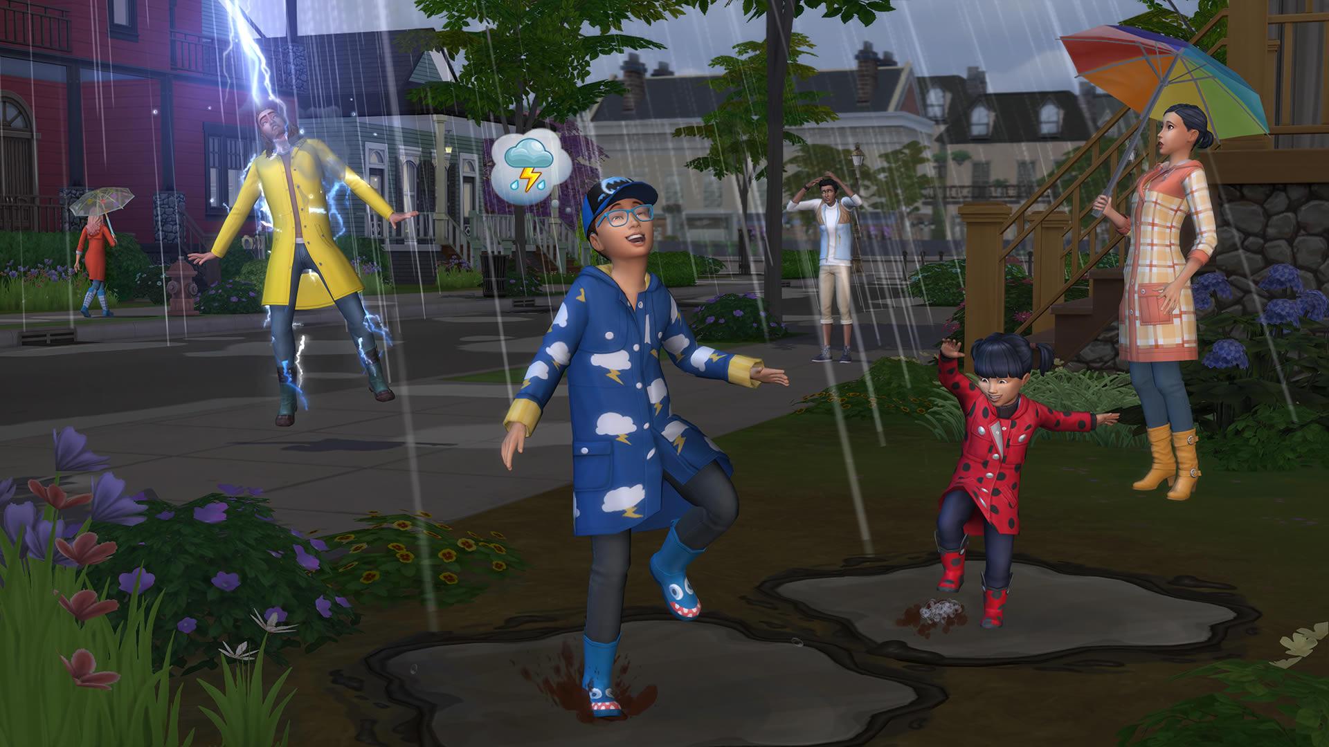 Скриншот №5 к The Sims 4 Времена года