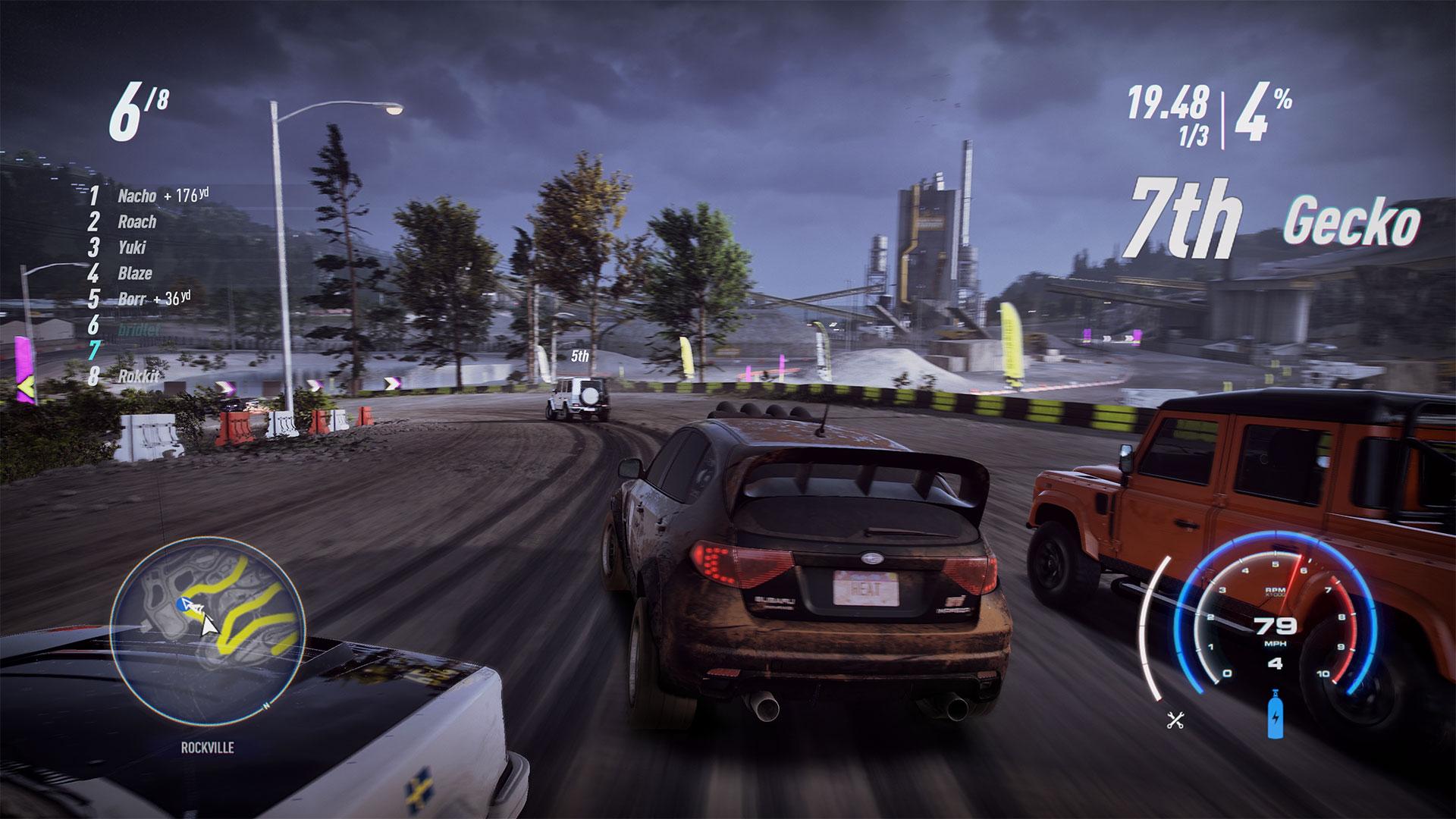 Скриншот №8 к Need for Speed Heat