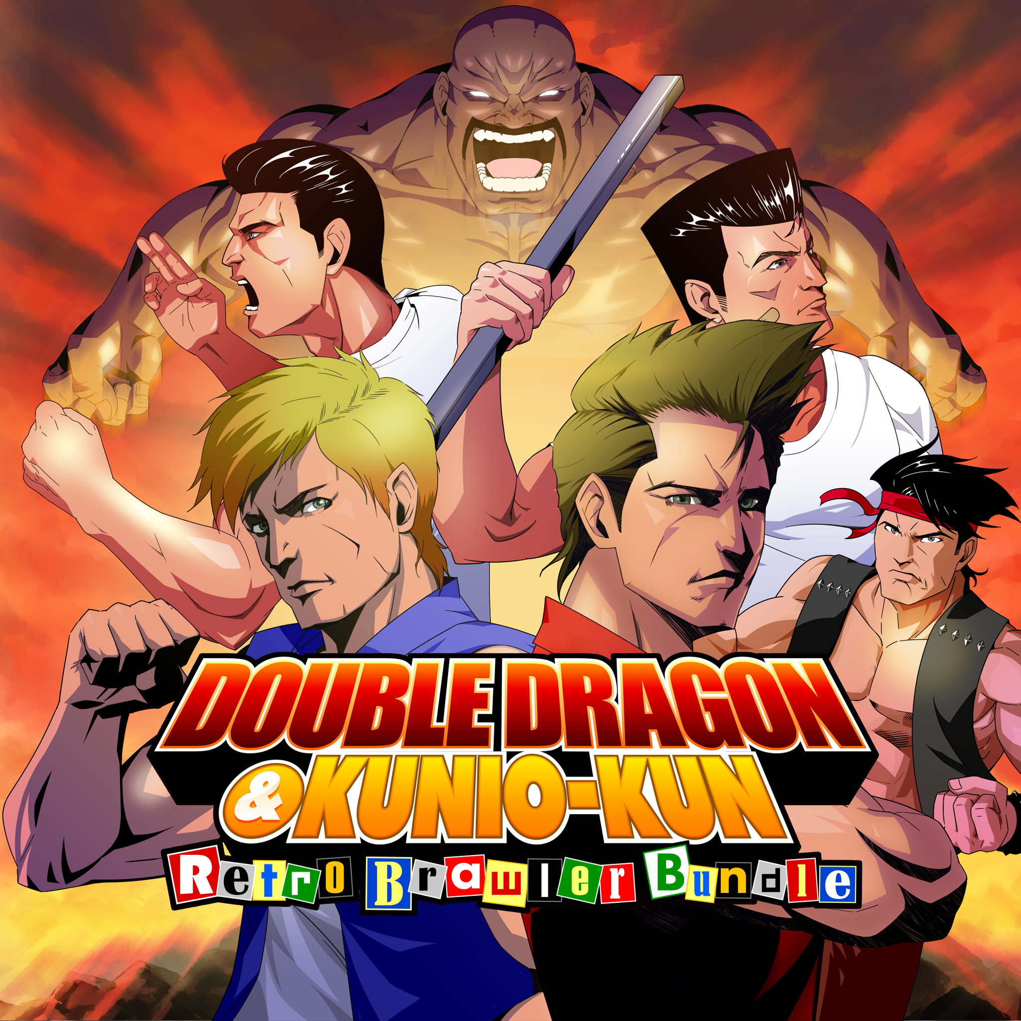 Double Dragon And Kunio Kun Retro Brawler Bundle Ps4 Price