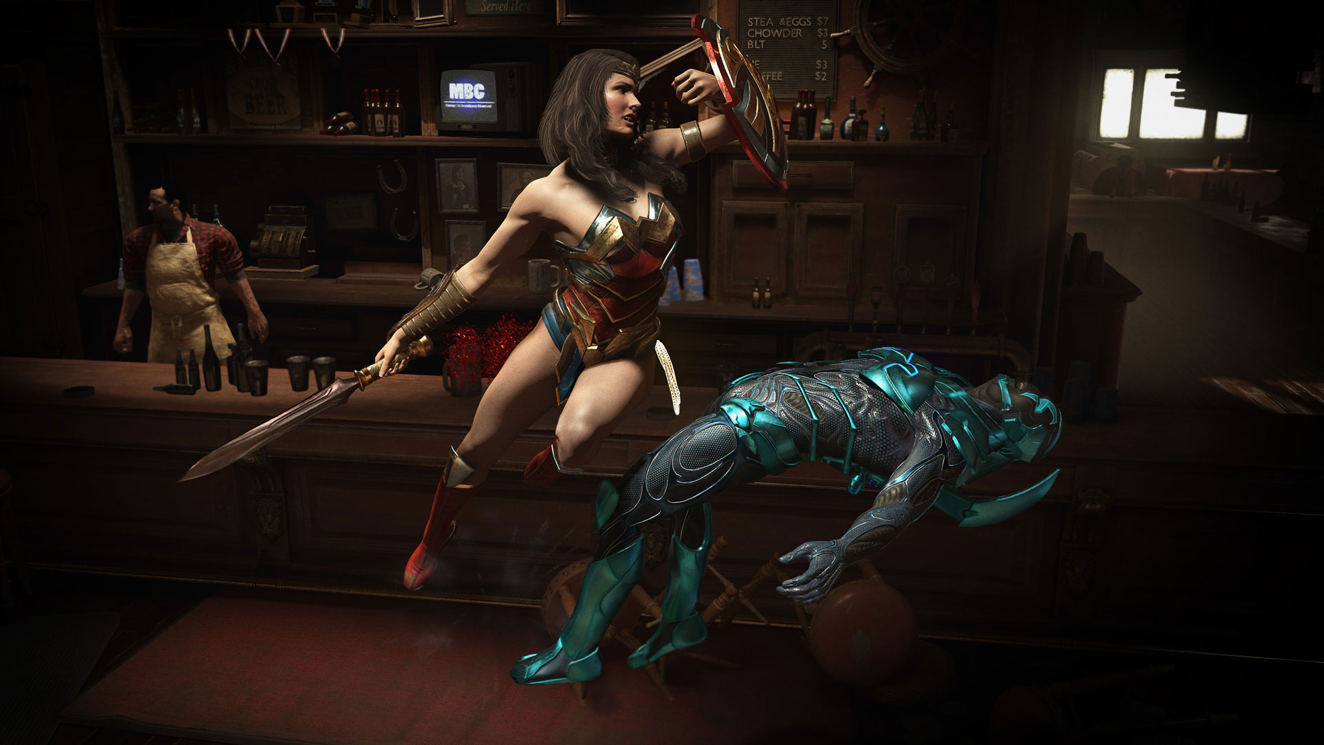 Скриншот №5 к Комплект Ultimate-издание MK11 + Injustice 2 - лег. издание