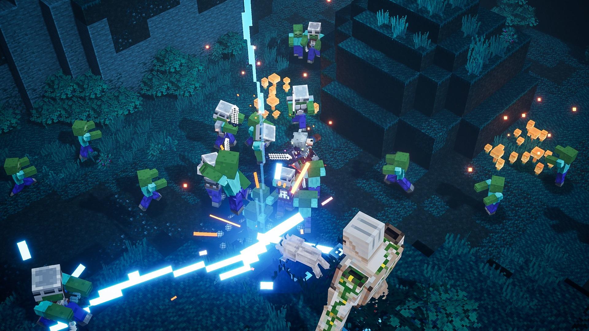 Скриншот №4 к Minecraft Dungeons героическое издание