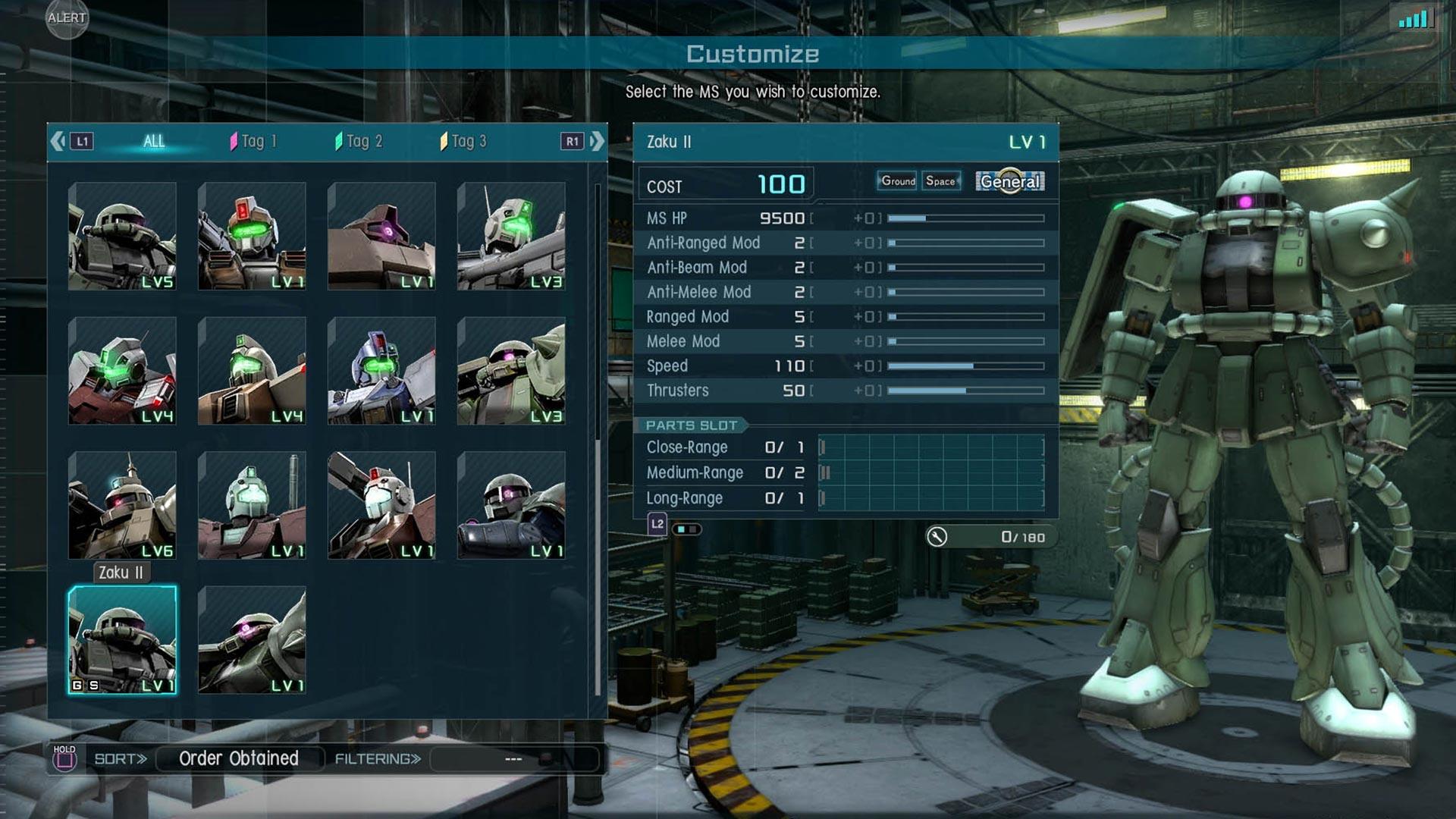 MOBILE SUIT GUNDAM BATTLE OPERATION 2 скриншот 1