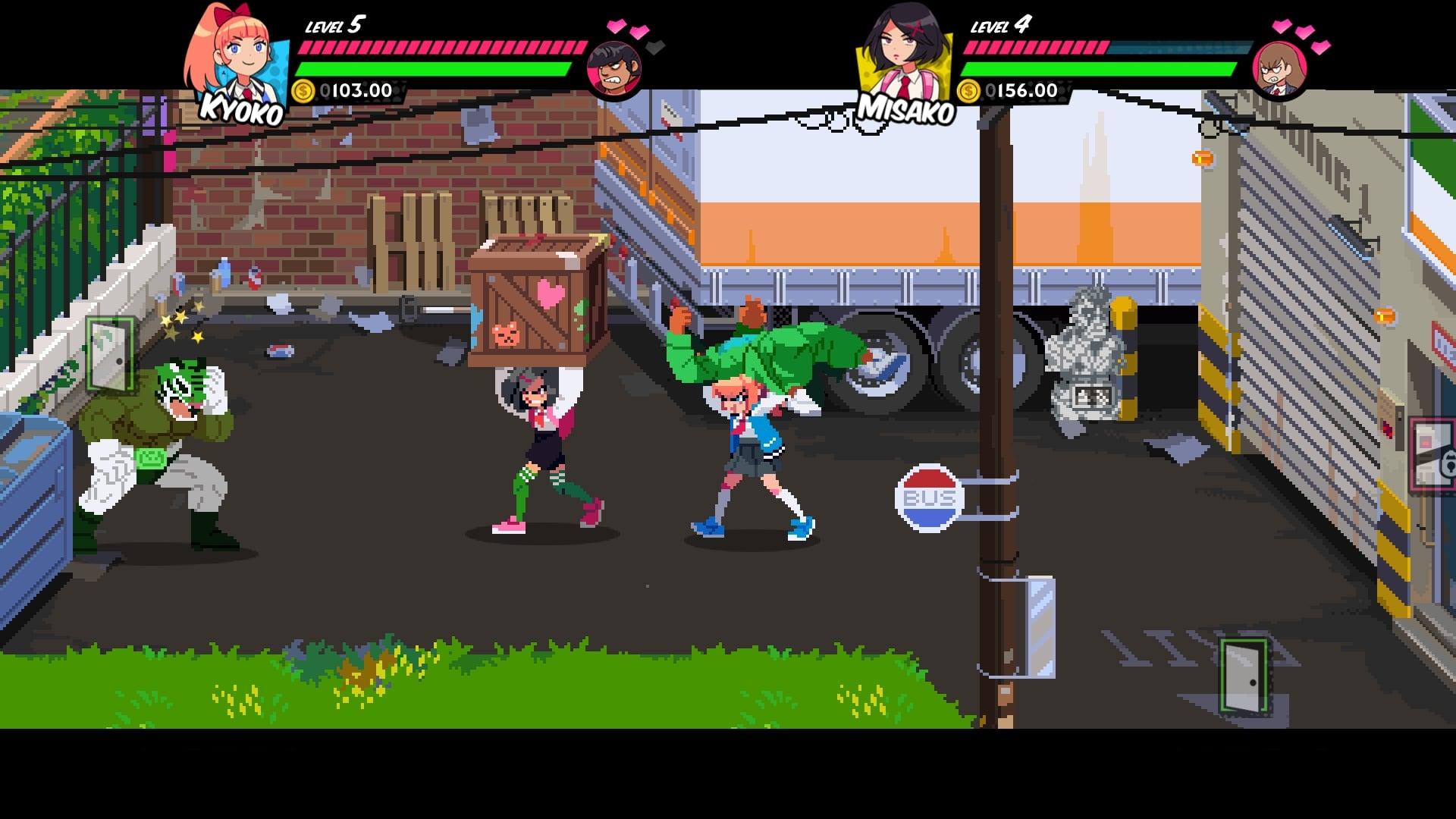 Скриншот №4 к River City Girls