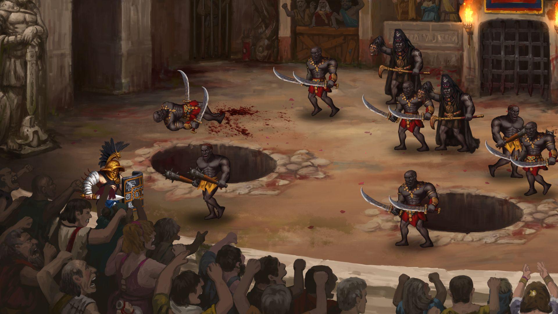 Скриншот №6 к Story of a Gladiator