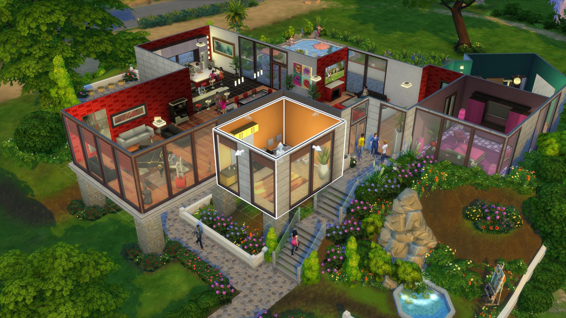 The Sims 4 скриншот 6