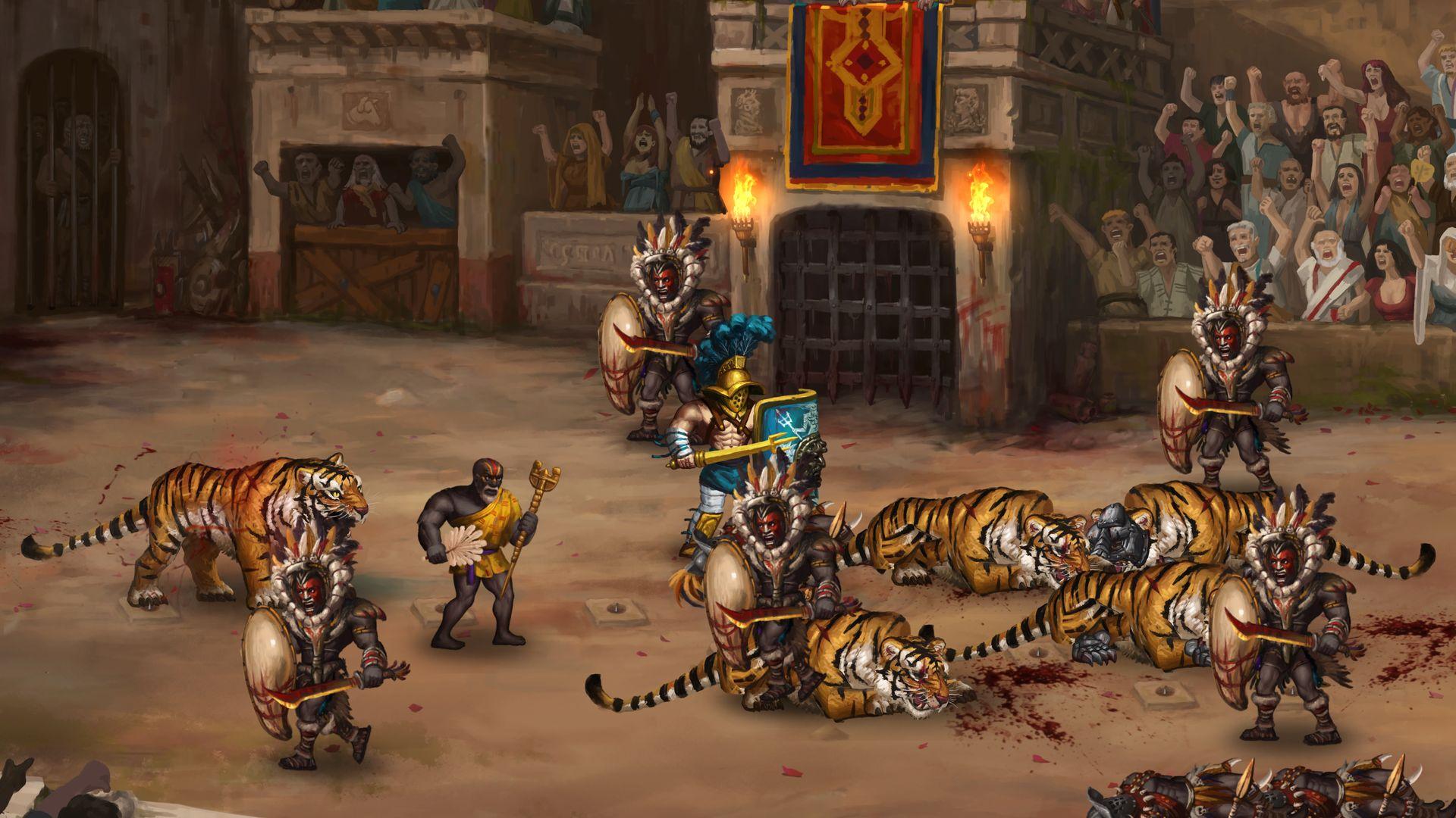 Скриншот №2 к Story of a Gladiator