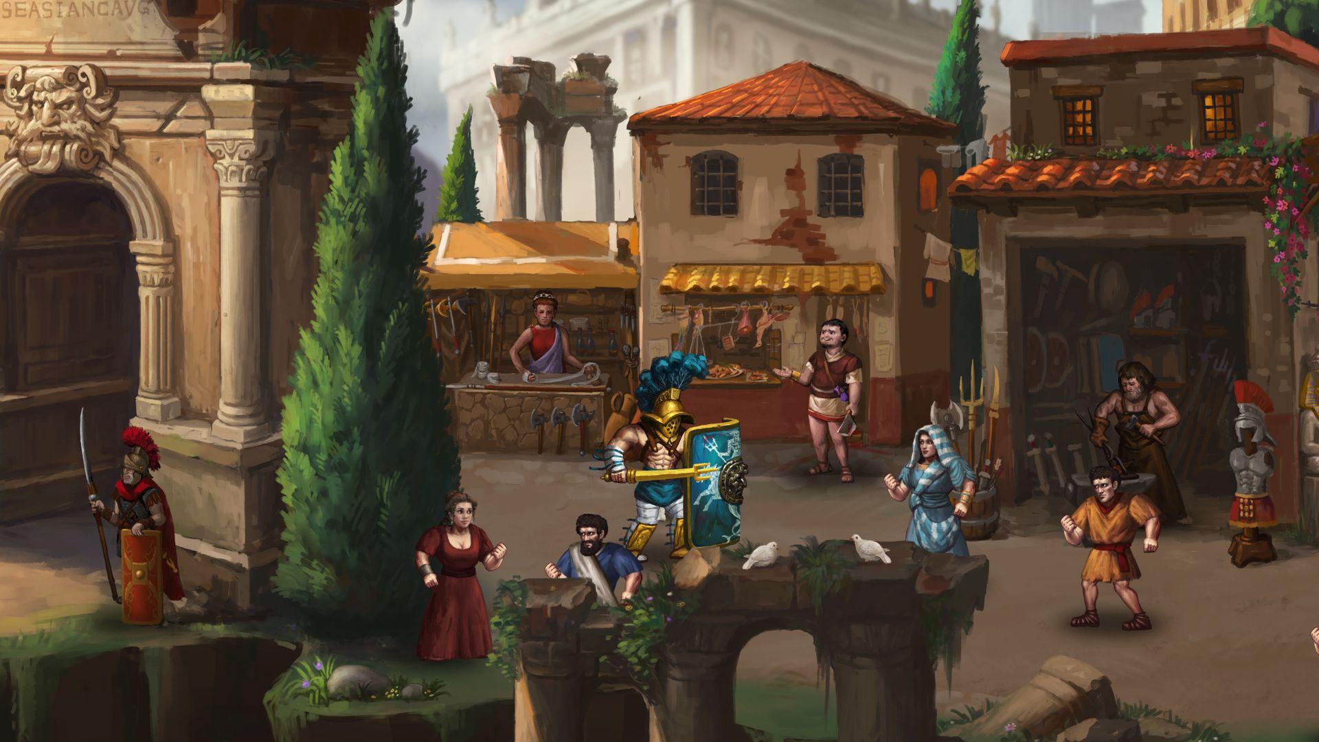 Скриншот №3 к Story of a Gladiator