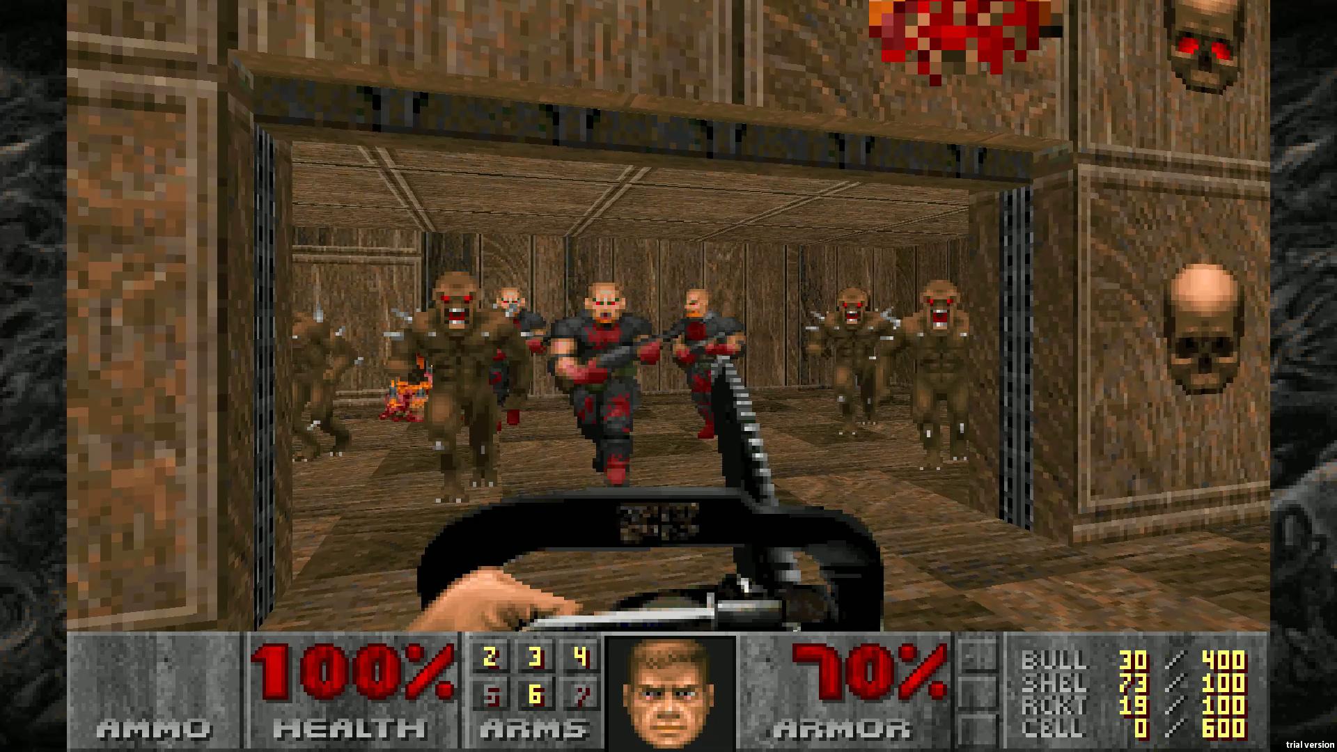 Скриншот №2 к DOOM 1993