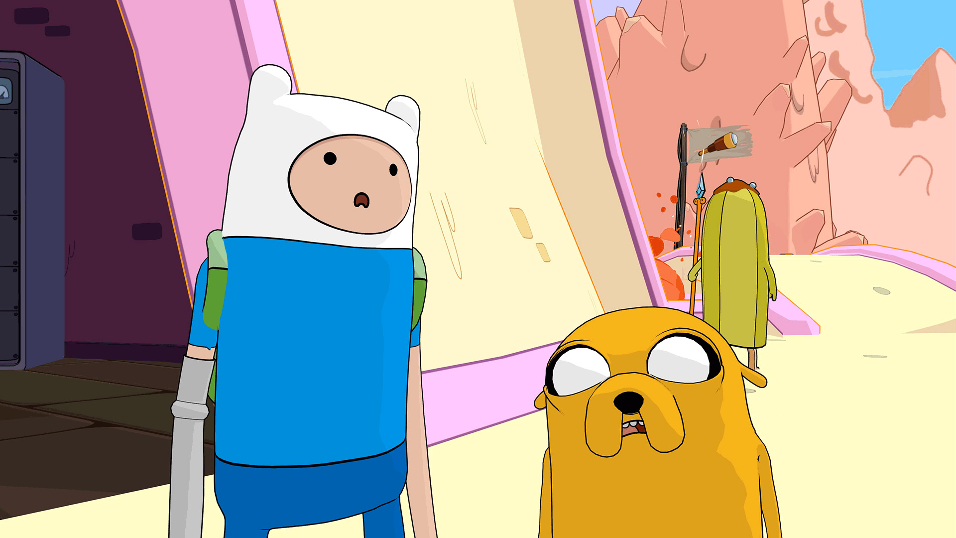 Скриншот №5 к Ben 10 and Adventure Time