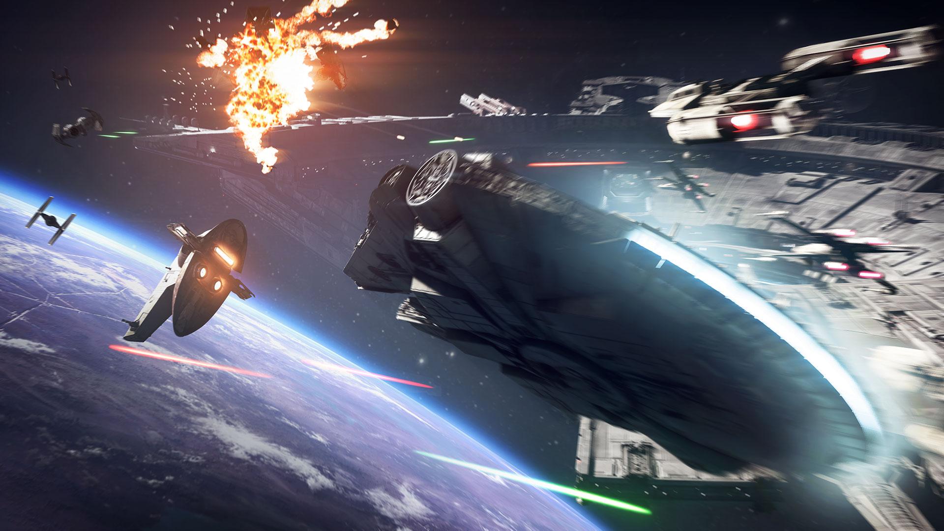 Скриншот №7 к STAR WARS Battlefront II — обновление до «Праздничного издан