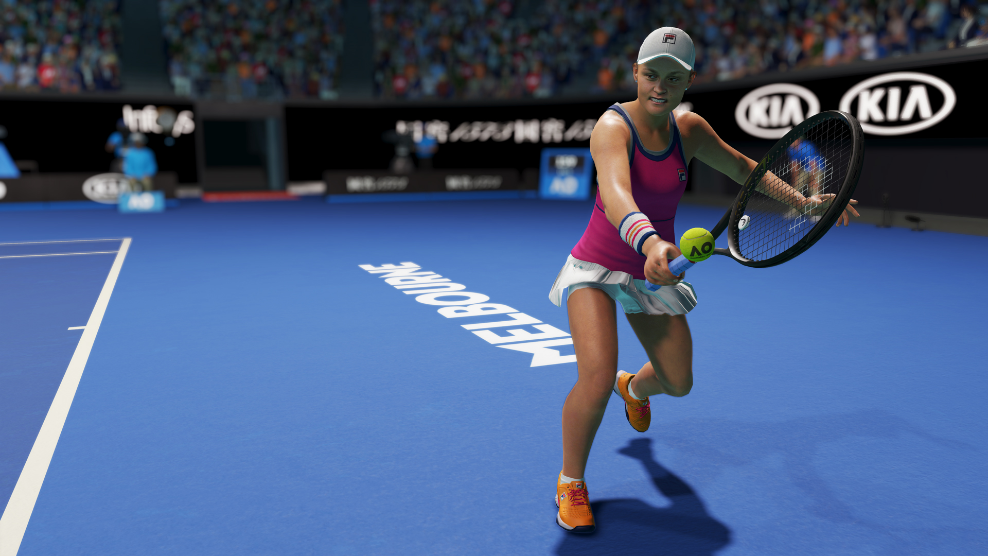 Скриншот №1 к AO Tennis 2