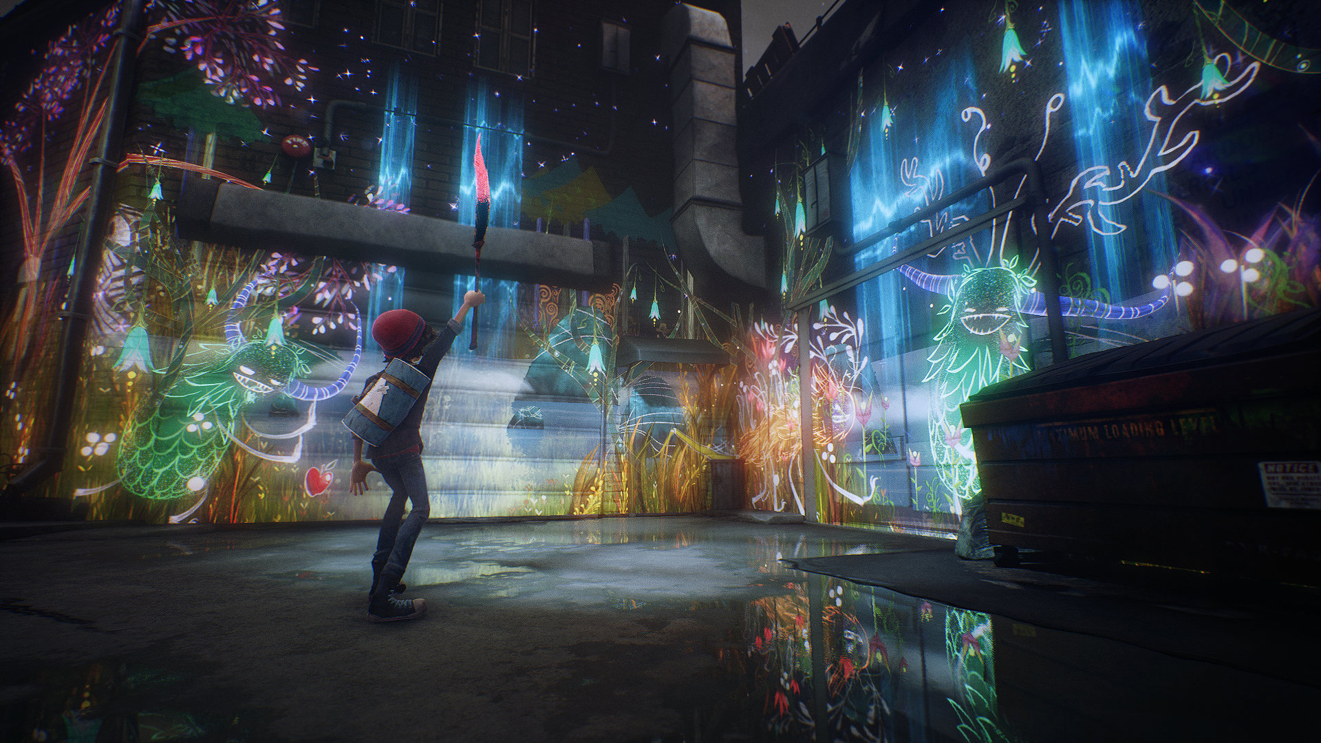 Скриншот №3 к Concrete Genie Digital Deluxe Edition