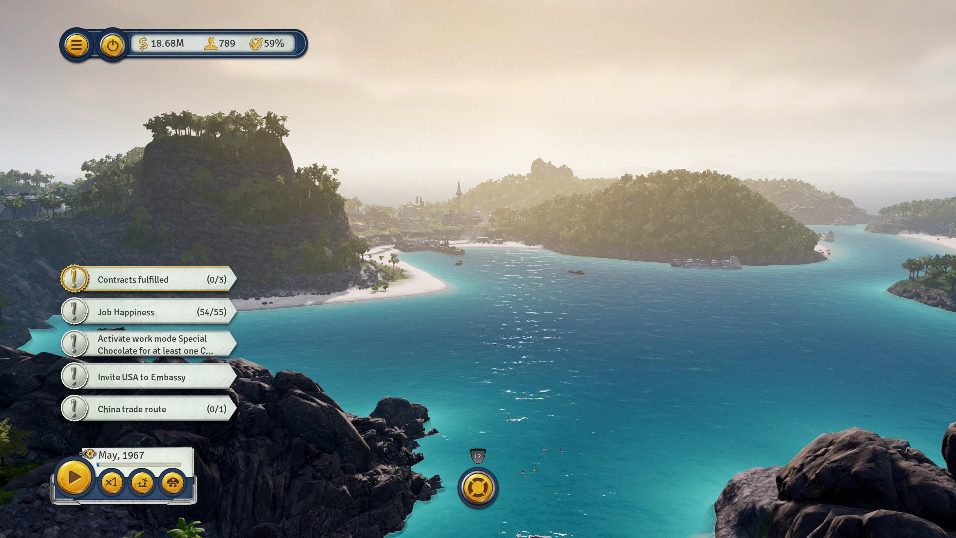 Скриншот №1 к Tropico 6 El Prez Edition