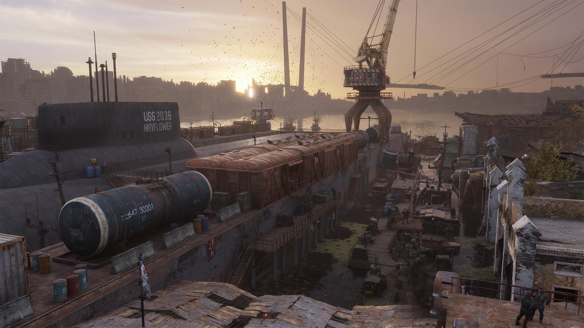 Скриншот №1 к Metro Exodus - Sams Story