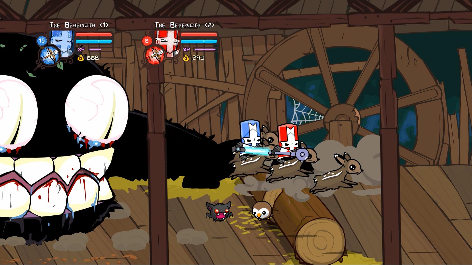 Скриншот №6 к Castle Crashers Remastered