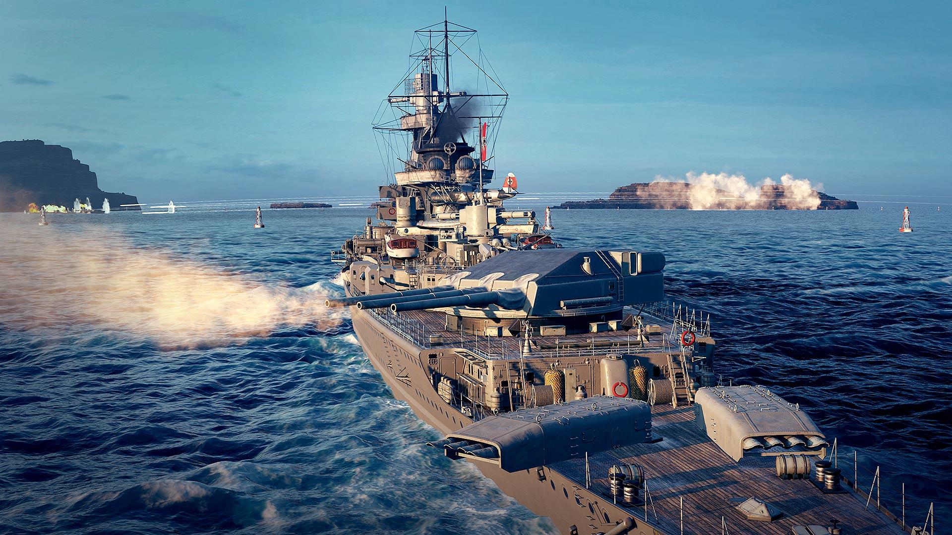 World of Warships: Legends - Pocket Battleship on PS4   Official PlayStation™Store UK