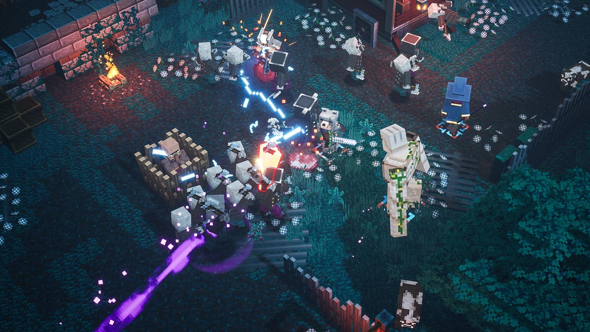 Скриншот №7 к Minecraft Dungeons героическое издание