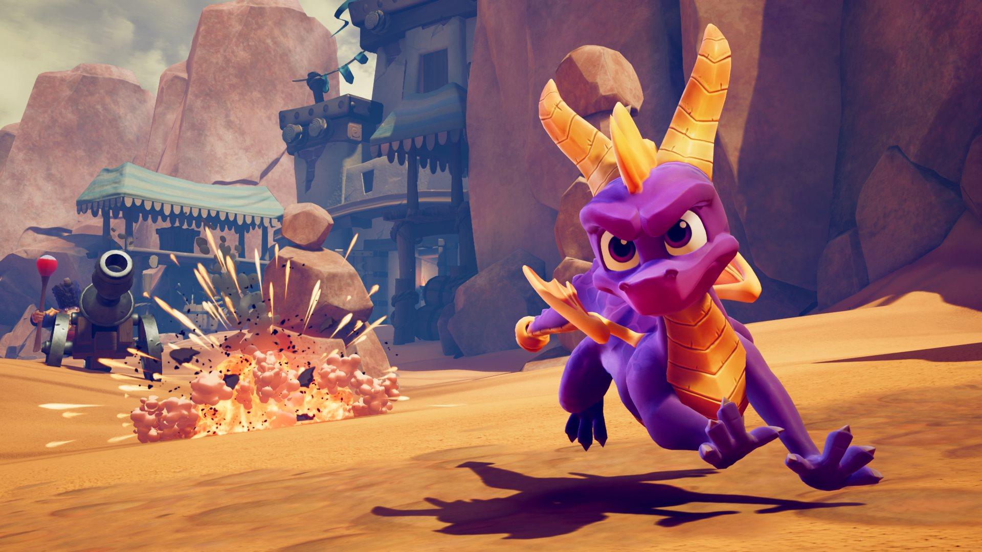 Скриншот №3 к Тройной набор Crash™ + Spyro™