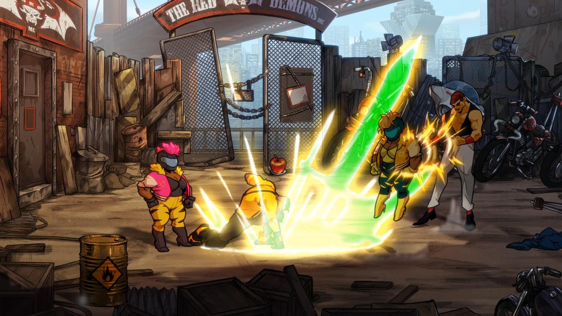 Скриншот №2 к Streets Of Rage 4