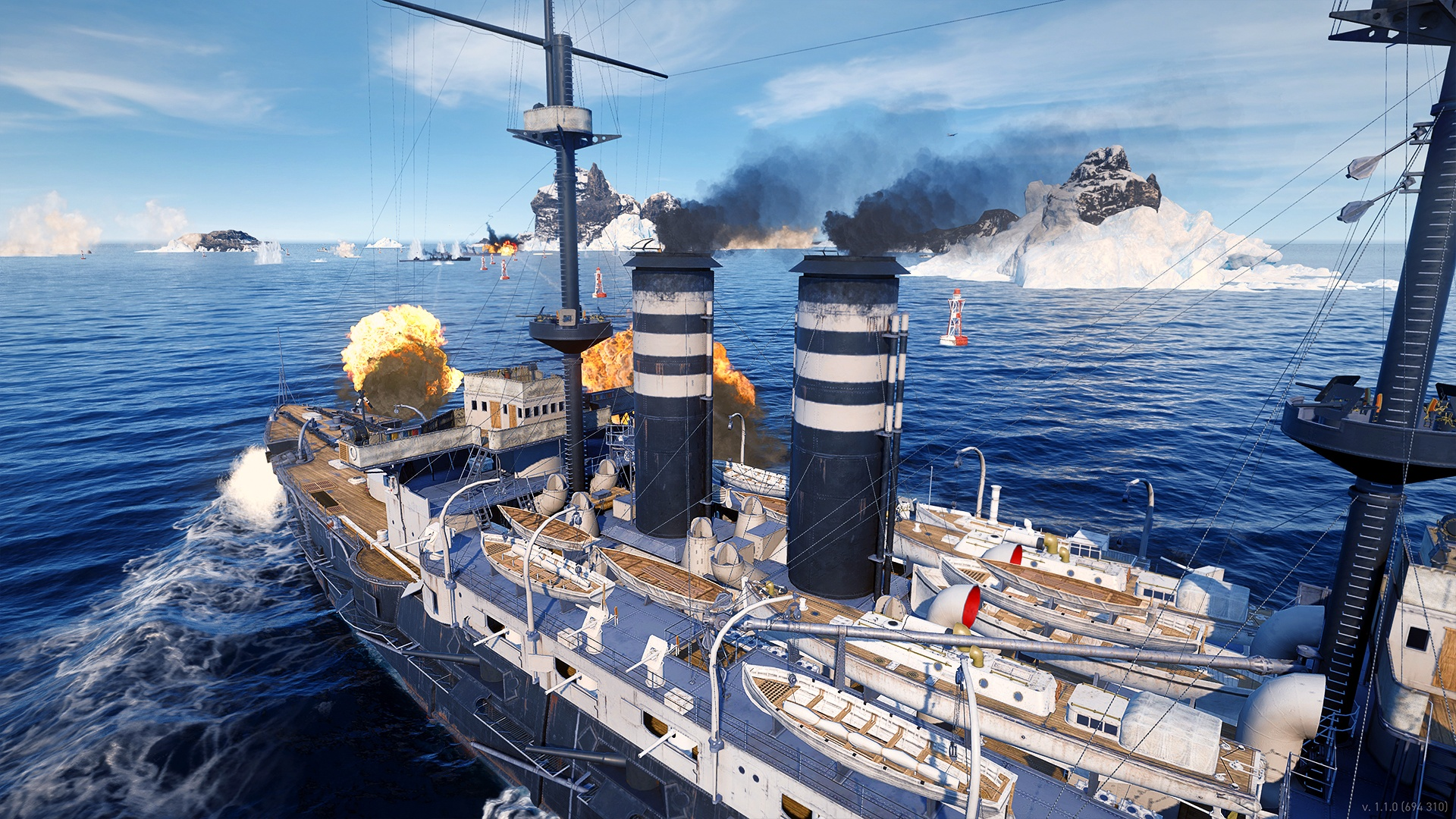 World of Warships: Legends — Naval Legend: Mikasa on PS4 ...