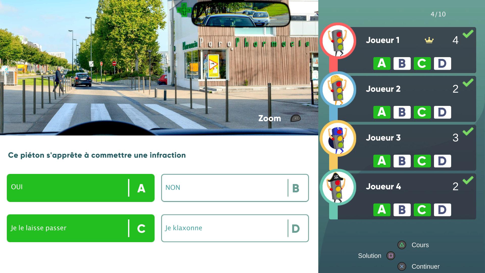 Скриншот №3 к Réussir  Code de la Route - Nouvelle Édition Французские правила дорожного движения