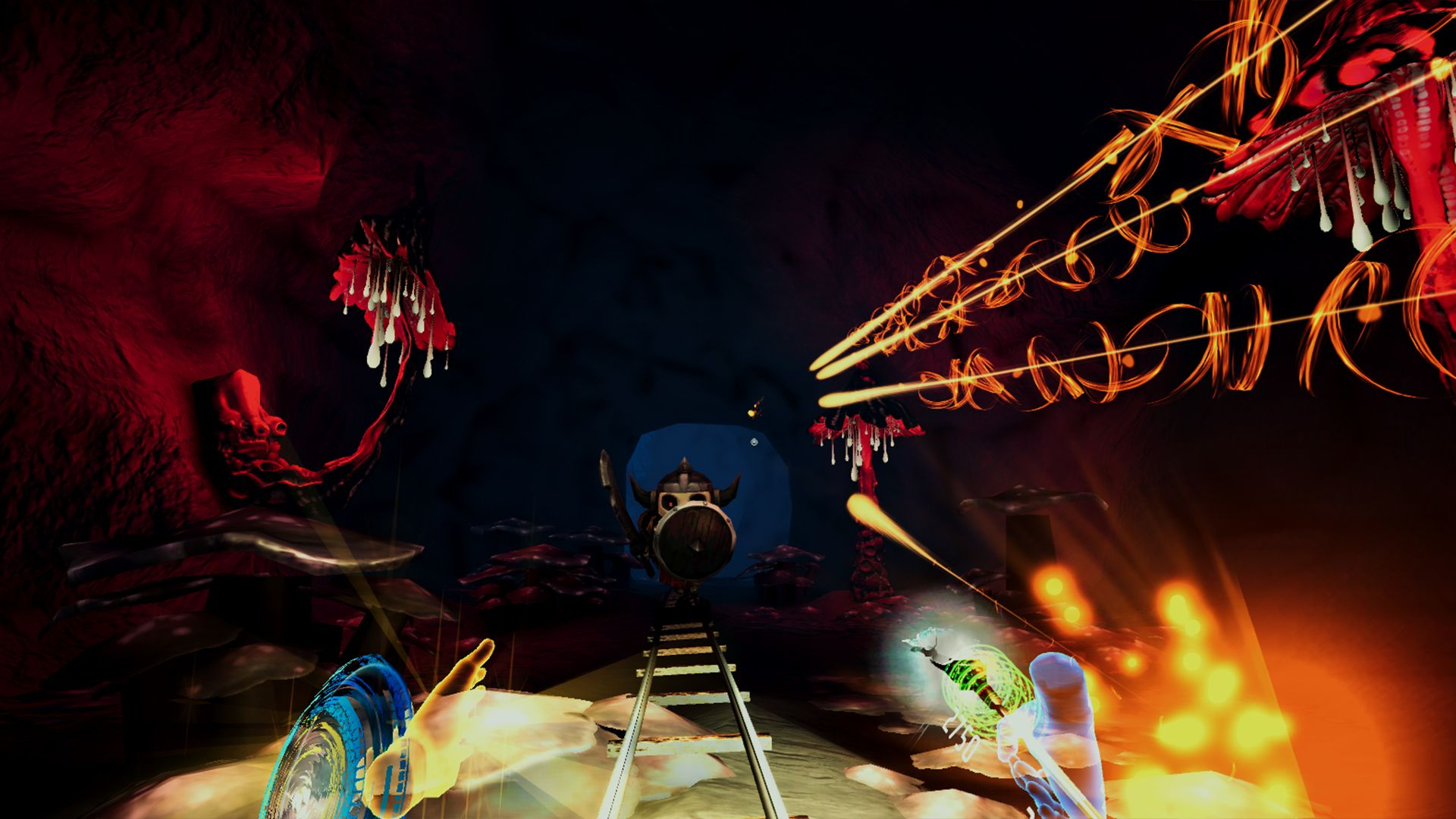 Скриншот №7 к Darkness Rollercoaster - Temple of Speed
