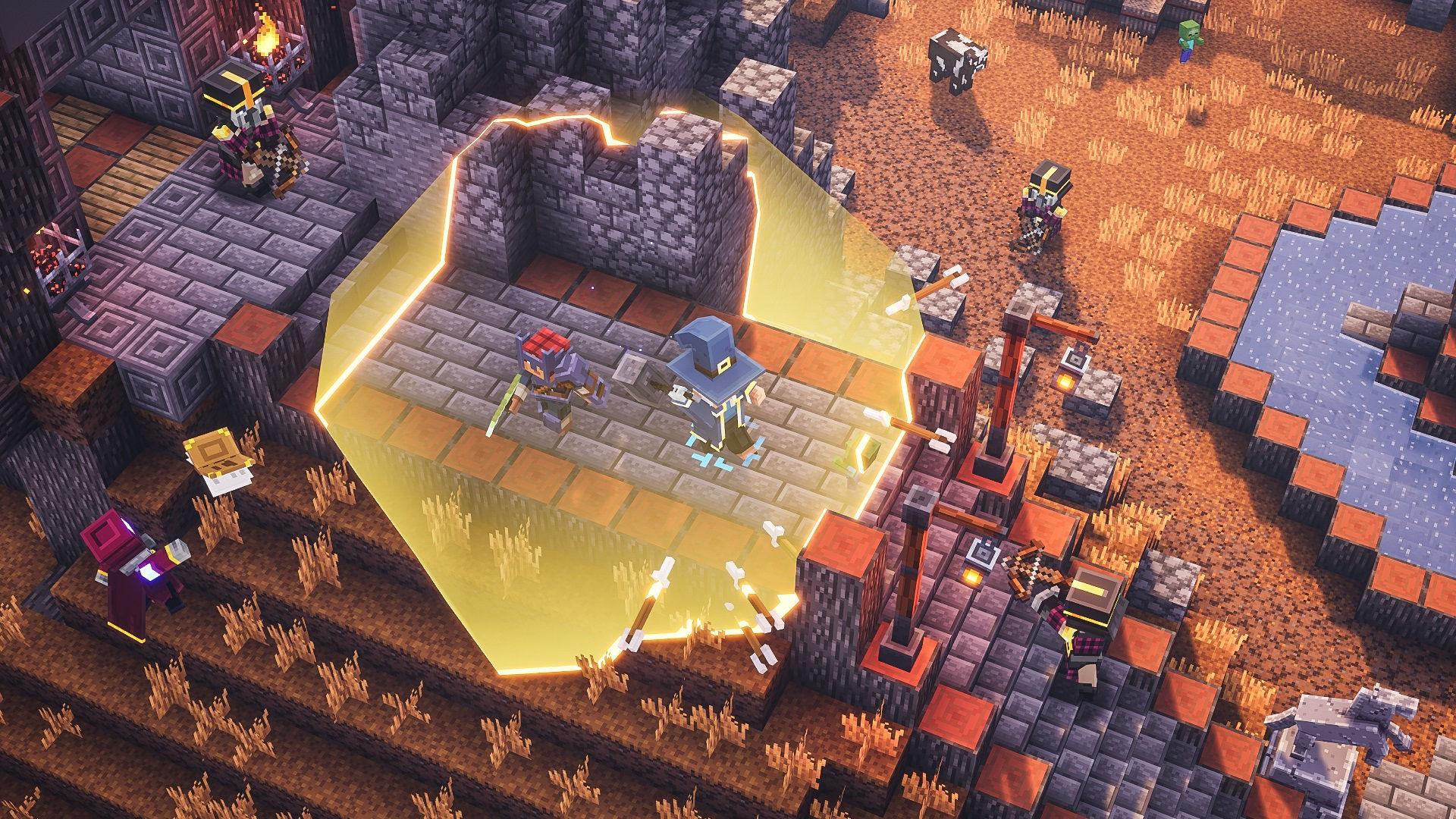 Скриншот №5 к Minecraft Dungeons героическое издание