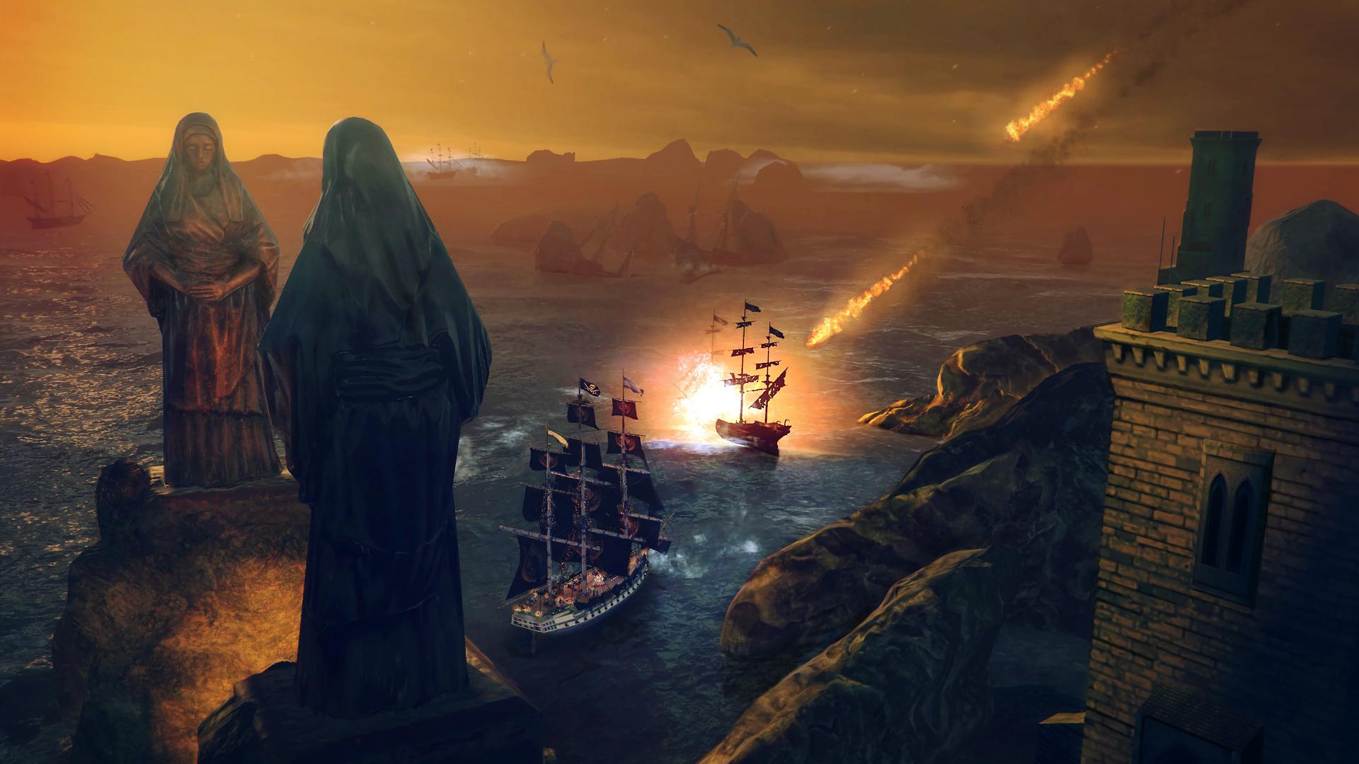 Скриншот №10 к Under The Jolly Roger
