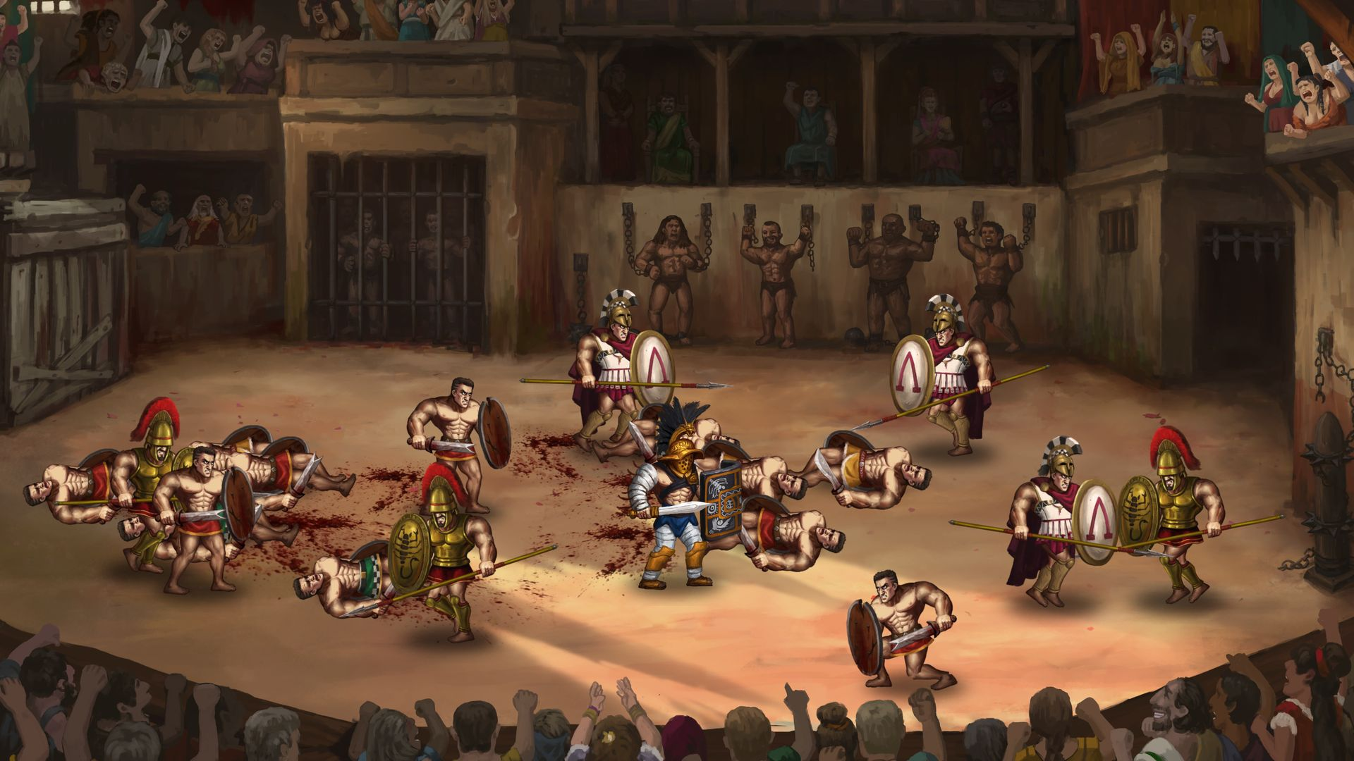 Скриншот №4 к Story of a Gladiator