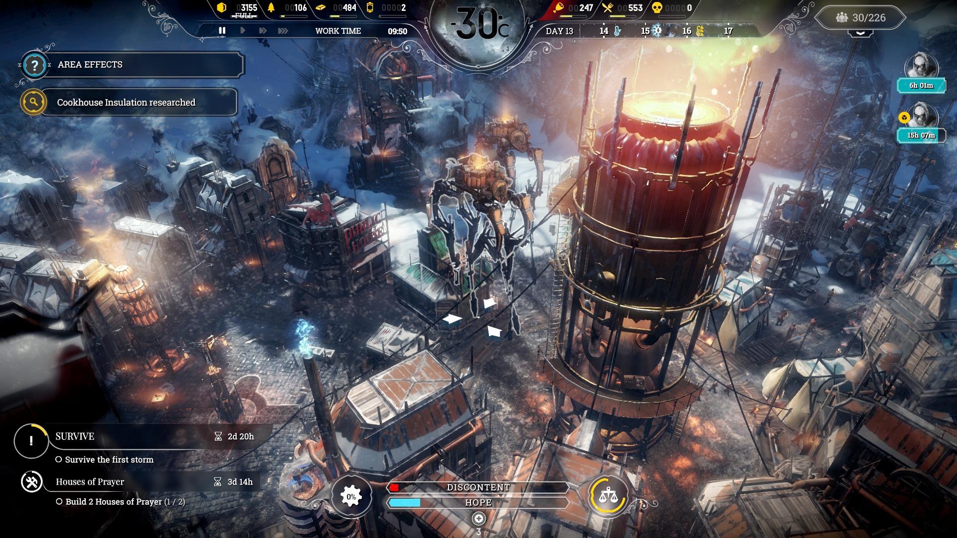 Скриншот №2 к Frostpunk Console Edition