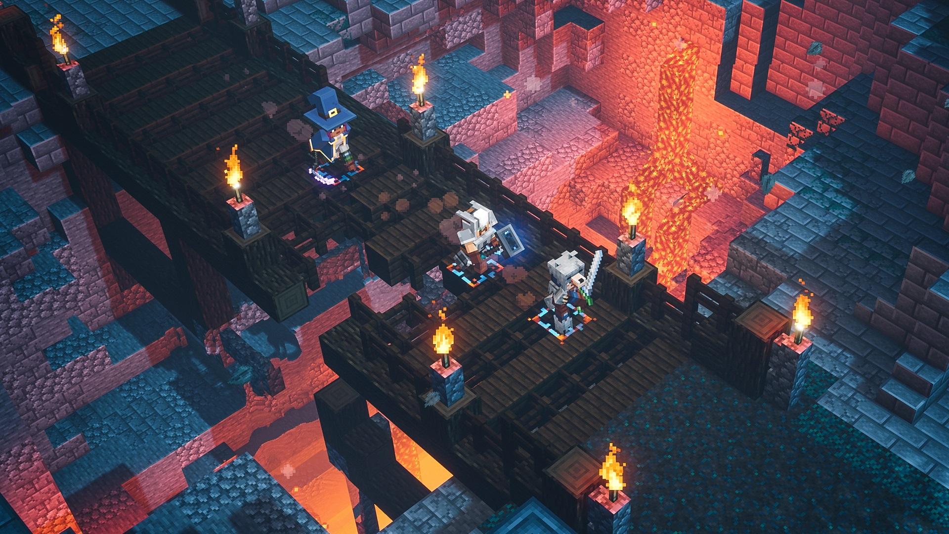 Banner do game Minecraft para PS4